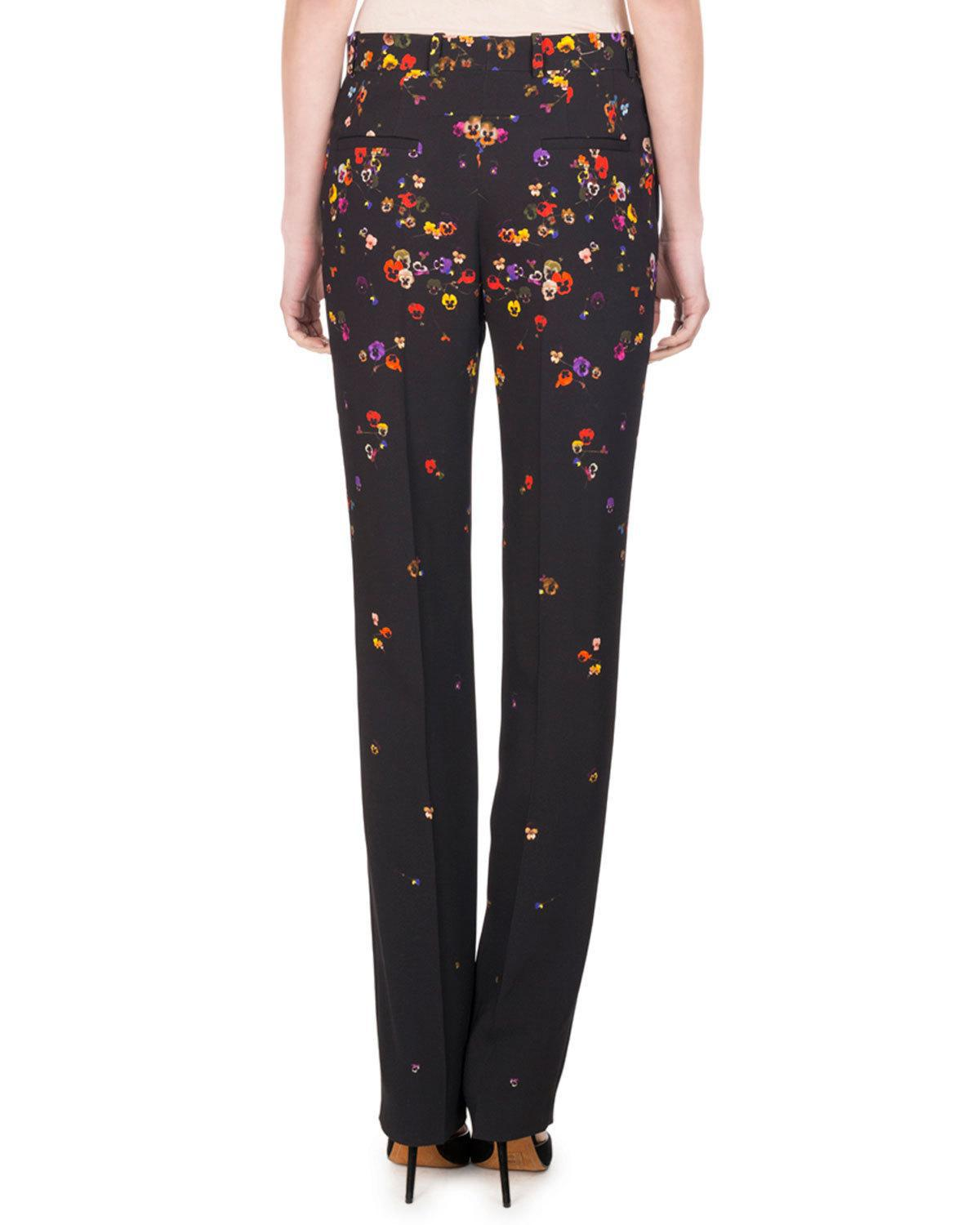printed straight leg trousers - Black Givenchy Shop Visa Payment For Sale PzEID7S