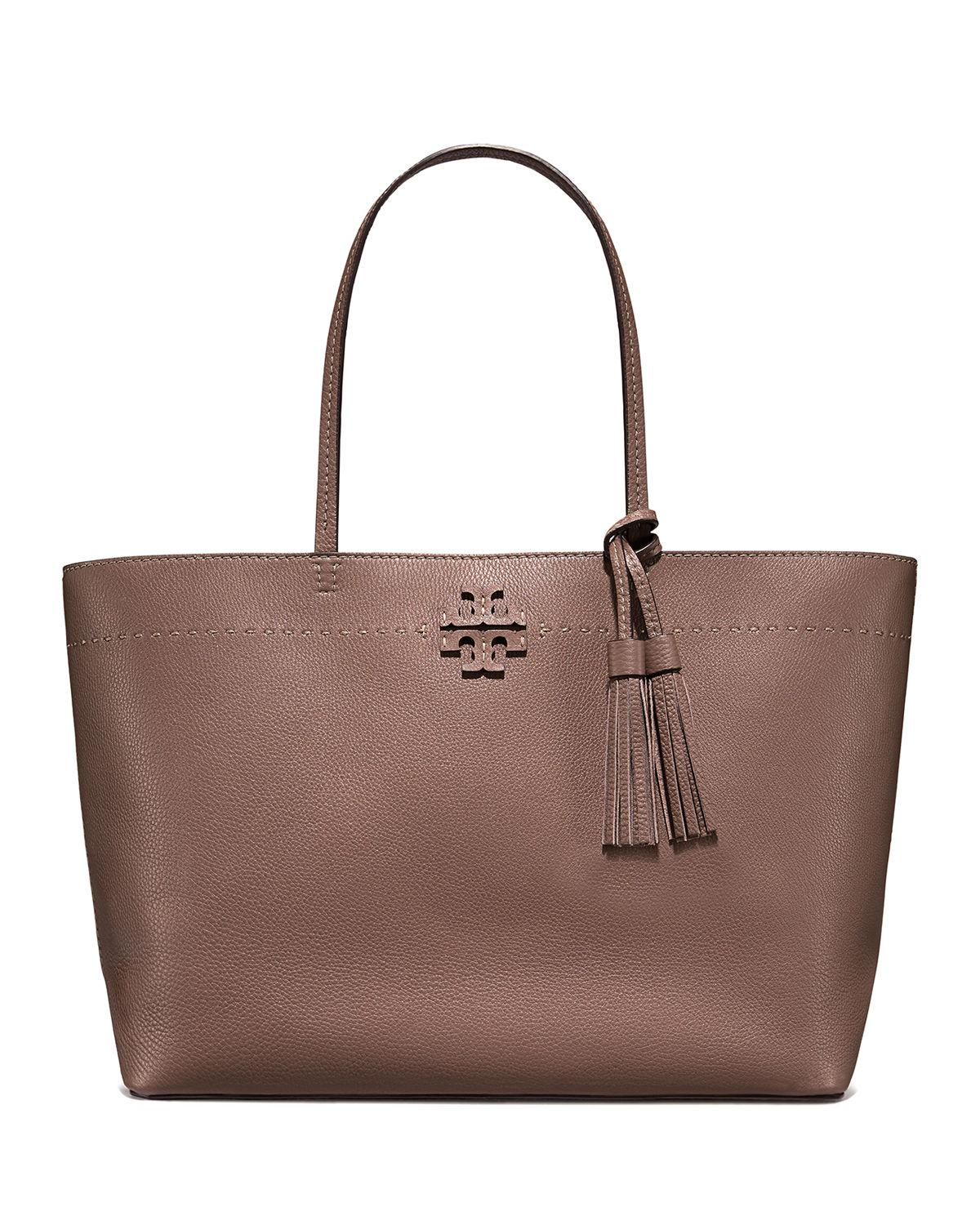 757a2737ce8c Tory Burch. Women s Mcgraw Pebbled Leather Tote Bag