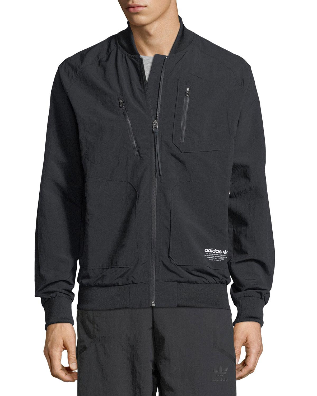 19ed7b4139de5 Lyst - adidas Originals Nmd Urban Track Jacket in Black for Men