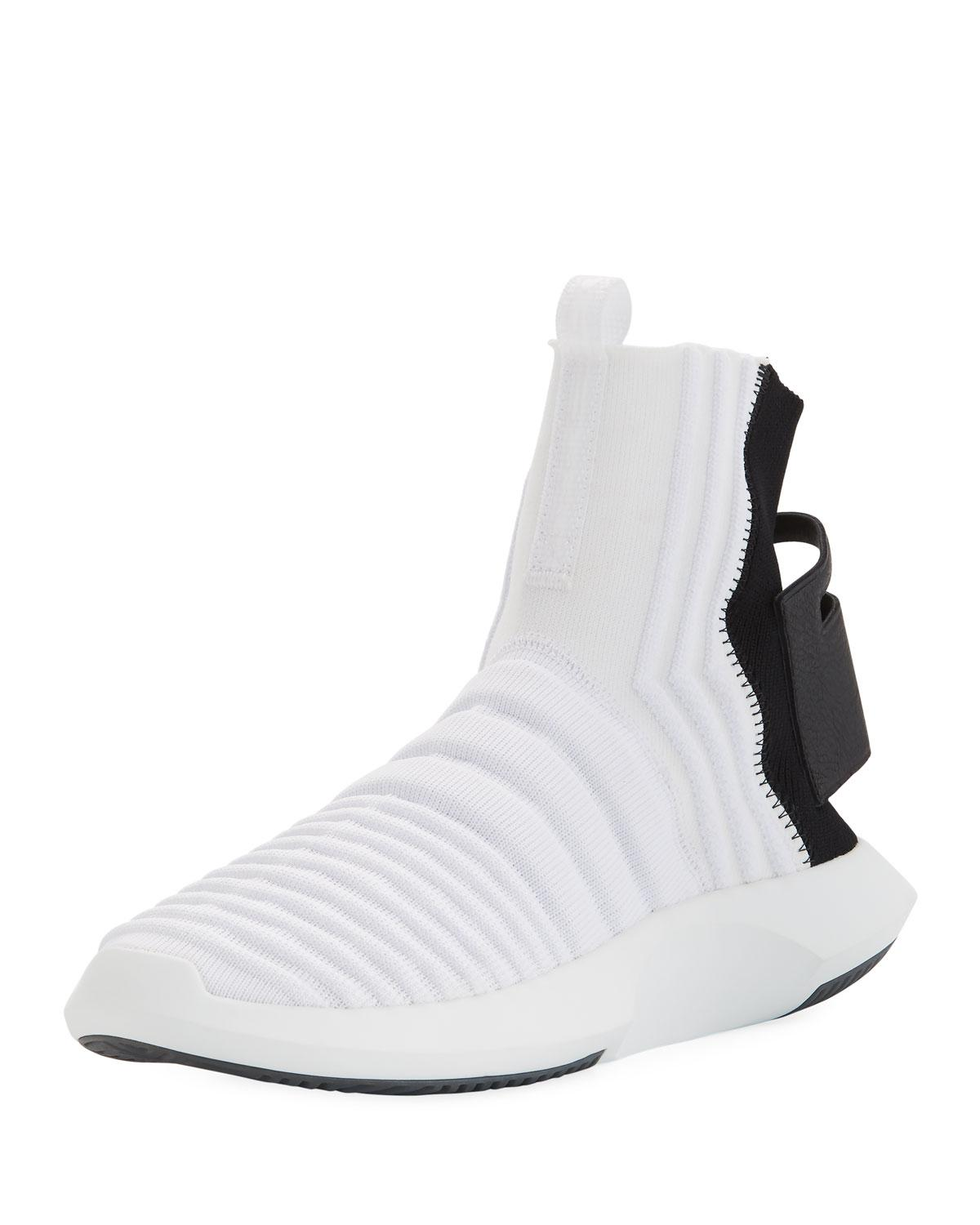 0805efb4a054 Lyst - adidas Men s Crazy 1 Adv High-top Sock Sneakers in White for Men