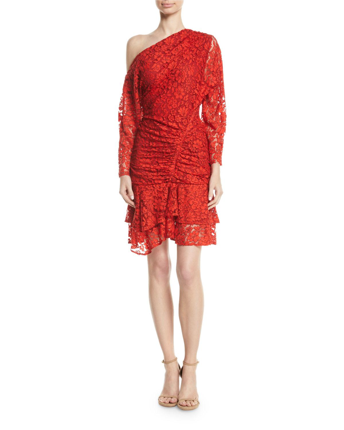 facd60903fabc Camilla & Marc Clemence Off-shoulder Dress in Red - Lyst