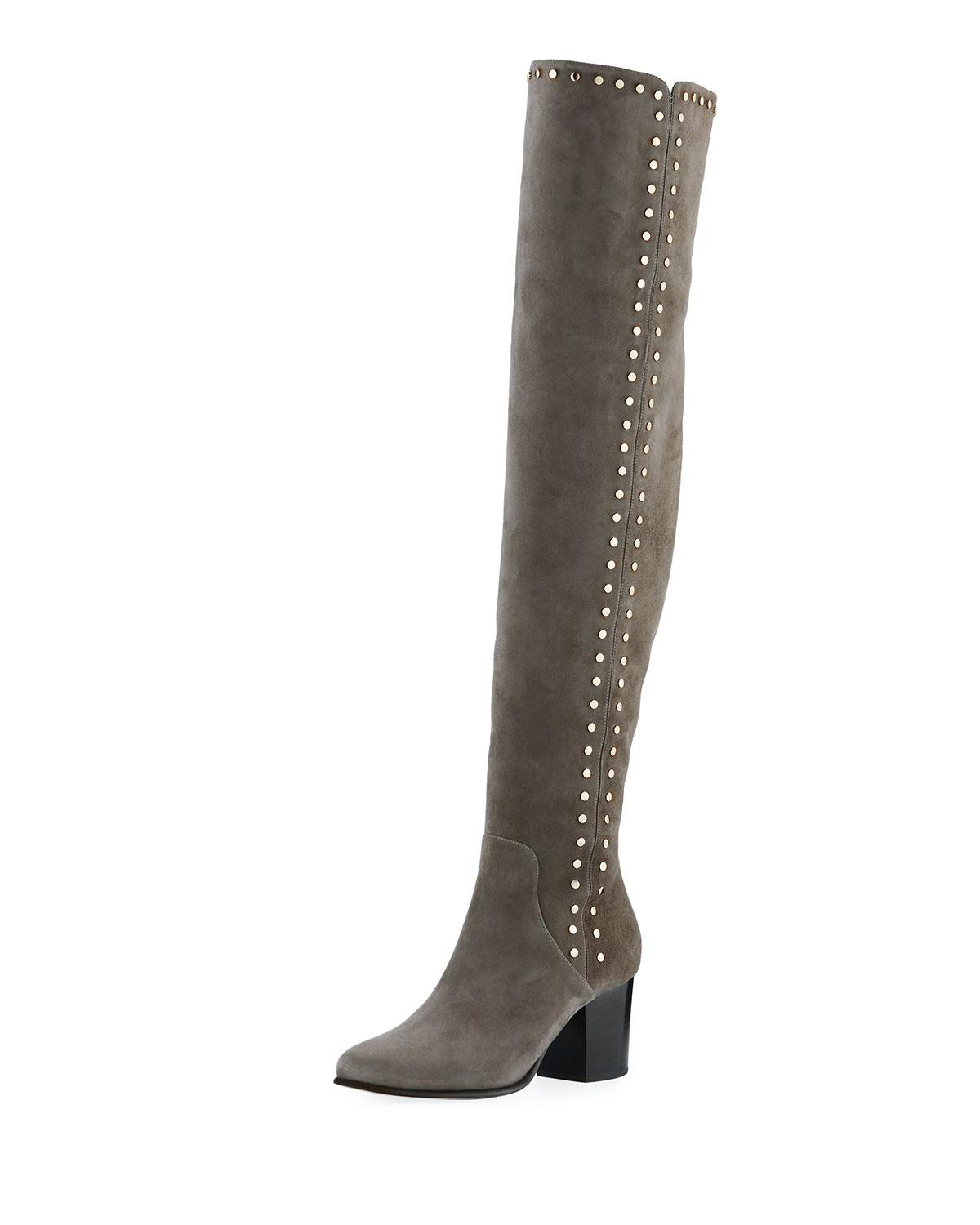 recommend online sale get to buy Jimmy Choo Studded Knee-High Boots outlet with mastercard supply cheap price zuTlecaJH