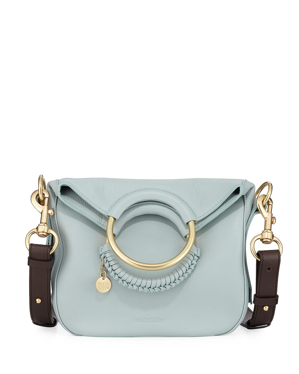 9e938e0fcb See By Chloé Monroe Small Crossbody Bag in Blue - Lyst