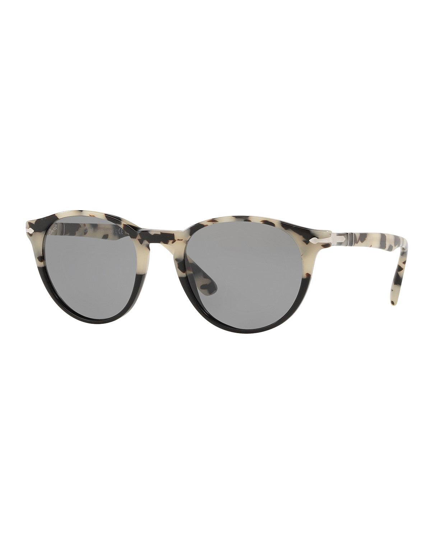 79911cb7040a Persol - Multicolor Men's Po31525 Round Acetate Sunglasses for Men - Lyst.  View fullscreen