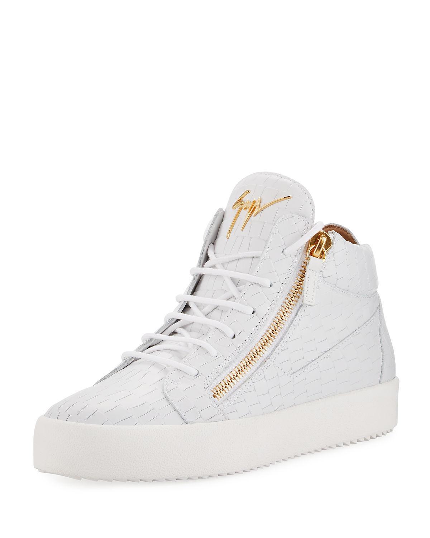 logo sneakers - White Giuseppe Zanotti AKDCt8Ute