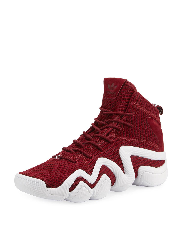 Adidas hombre 's Crazy 8 Lyst primeknit ® ADV zapatilla en rojo para hombres