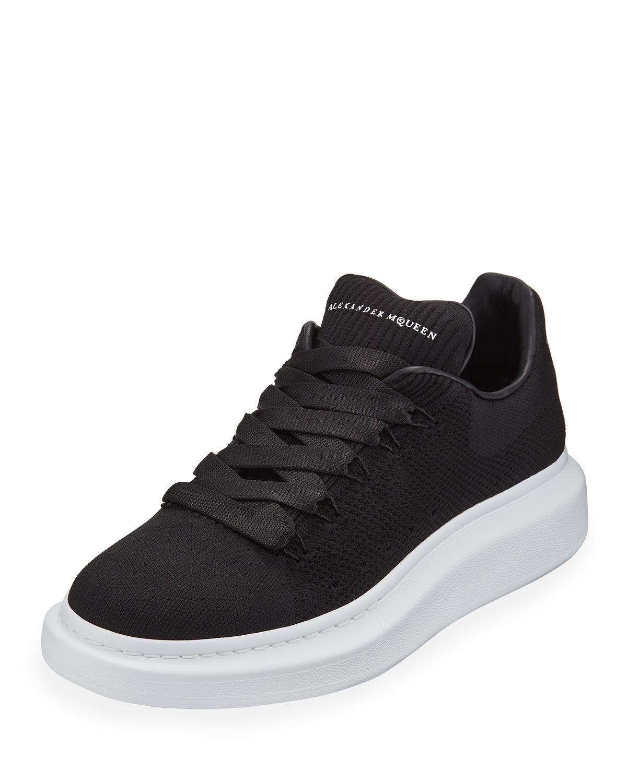 0e6004e30e36 Lyst - Alexander McQueen Men s Knitted Oversized Low-top Sneakers in ...