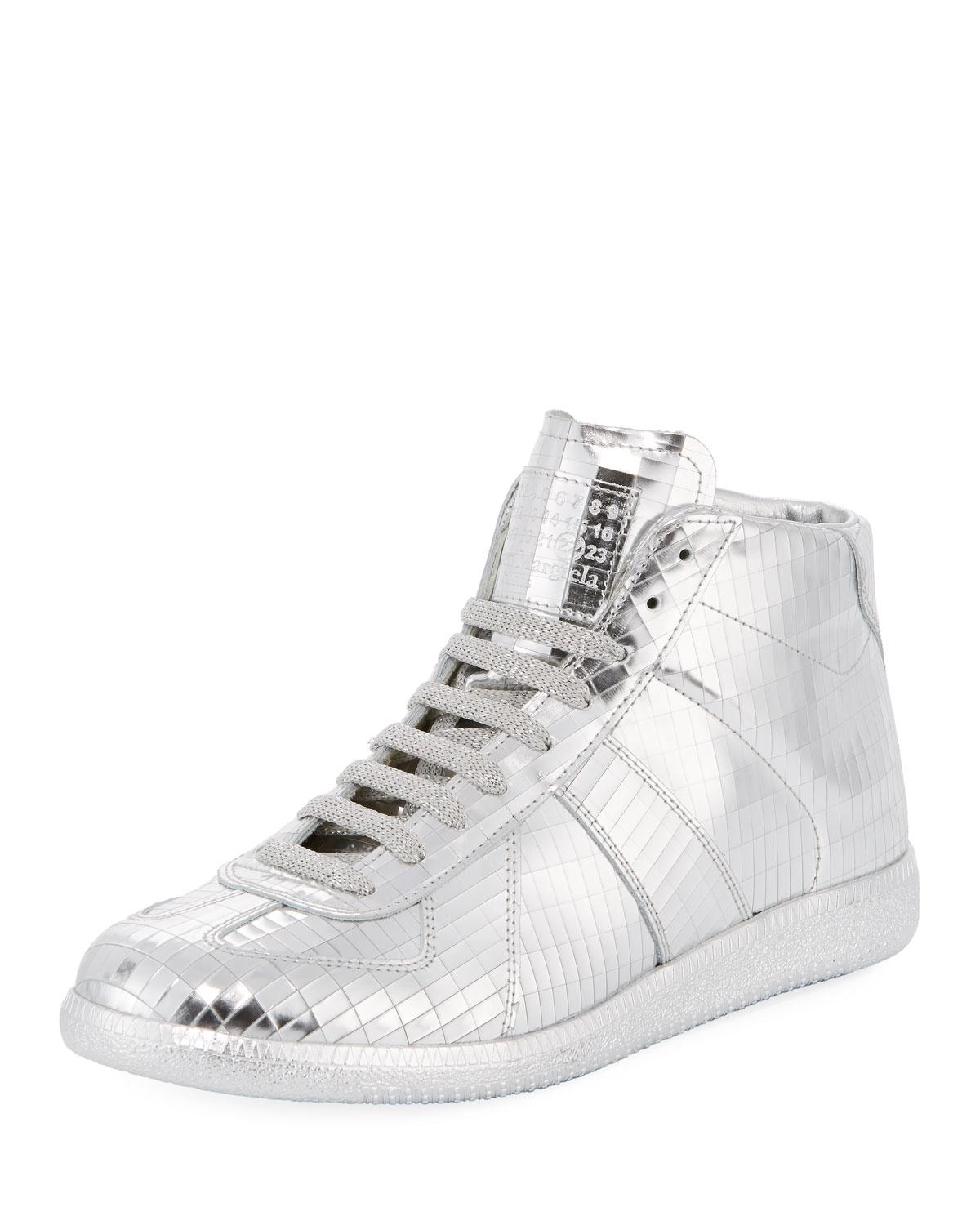 Replica hi-top sneakers - Metallic Maison Martin Margiela BQgGG