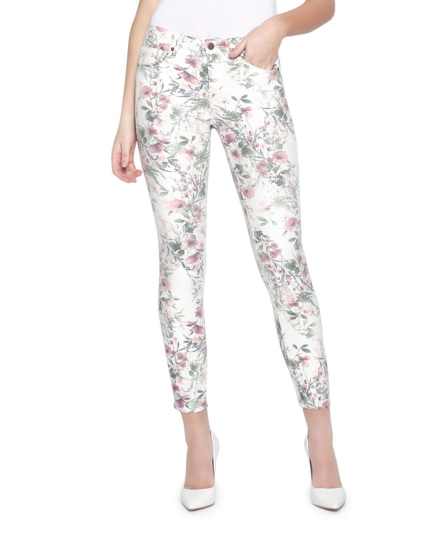 dedfe12729b Parker Smith. Women's Ava Victorian Floral Skinny Jeans