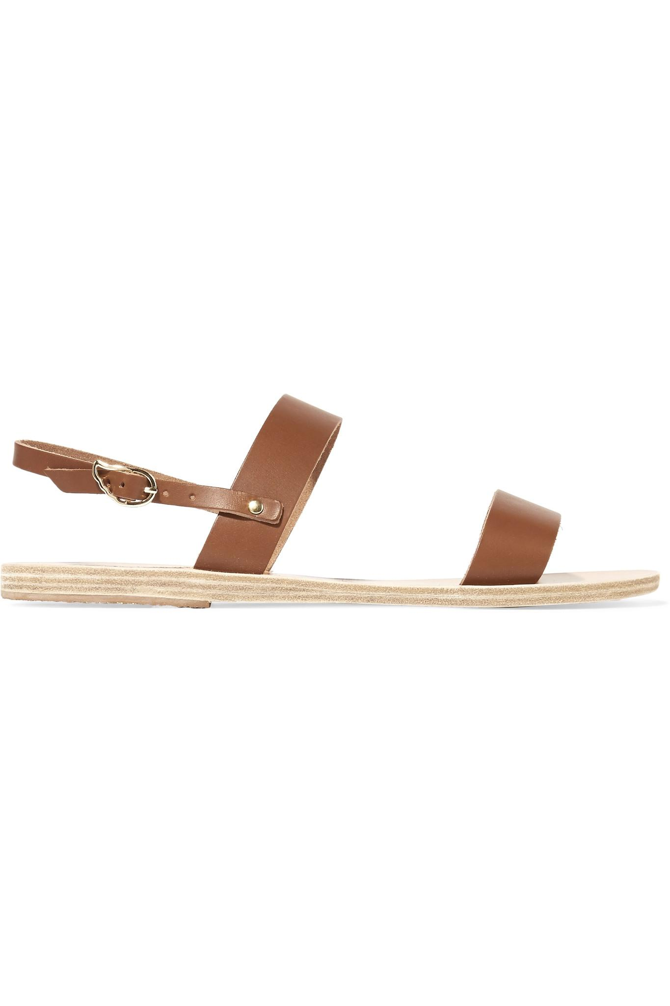 d1ba3b4153e Lyst - Ancient Greek Sandals Clio Leather Sandals in Brown