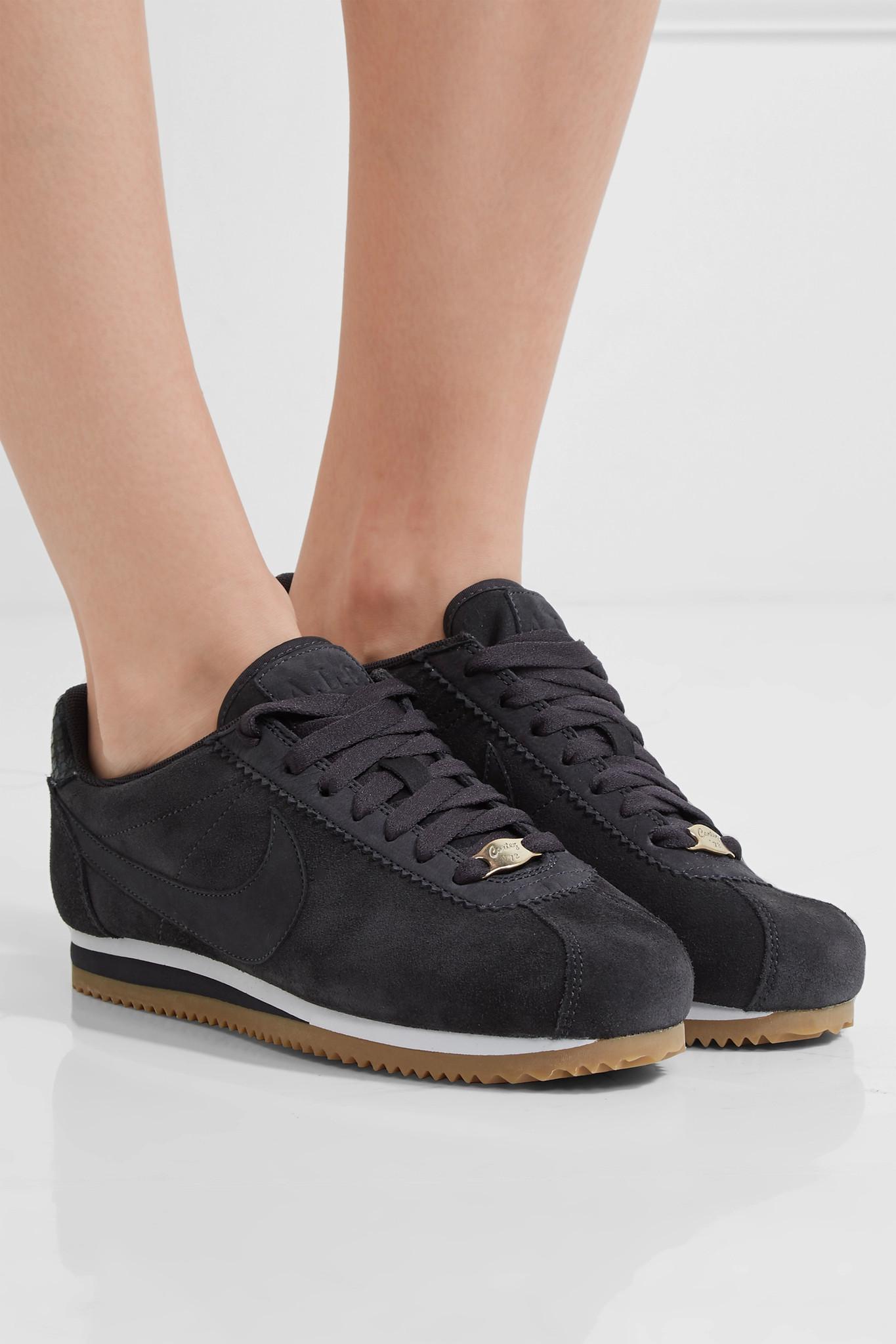cbd38834b33582 Lyst - Nike A.l.c. Classic Cortez Suede Sneakers