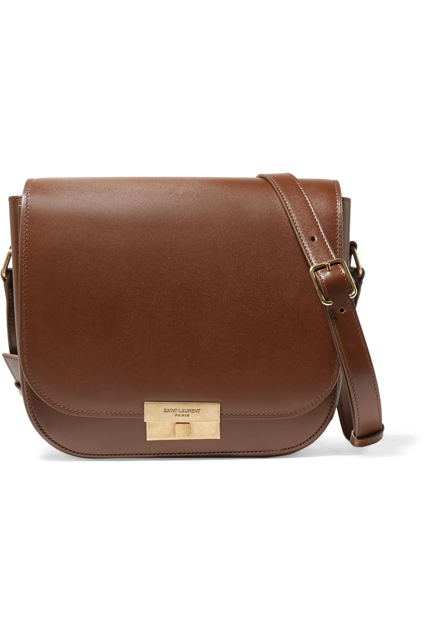 720ec3341f Saint Laurent Betty Leather Shoulder Bag in Brown - Lyst