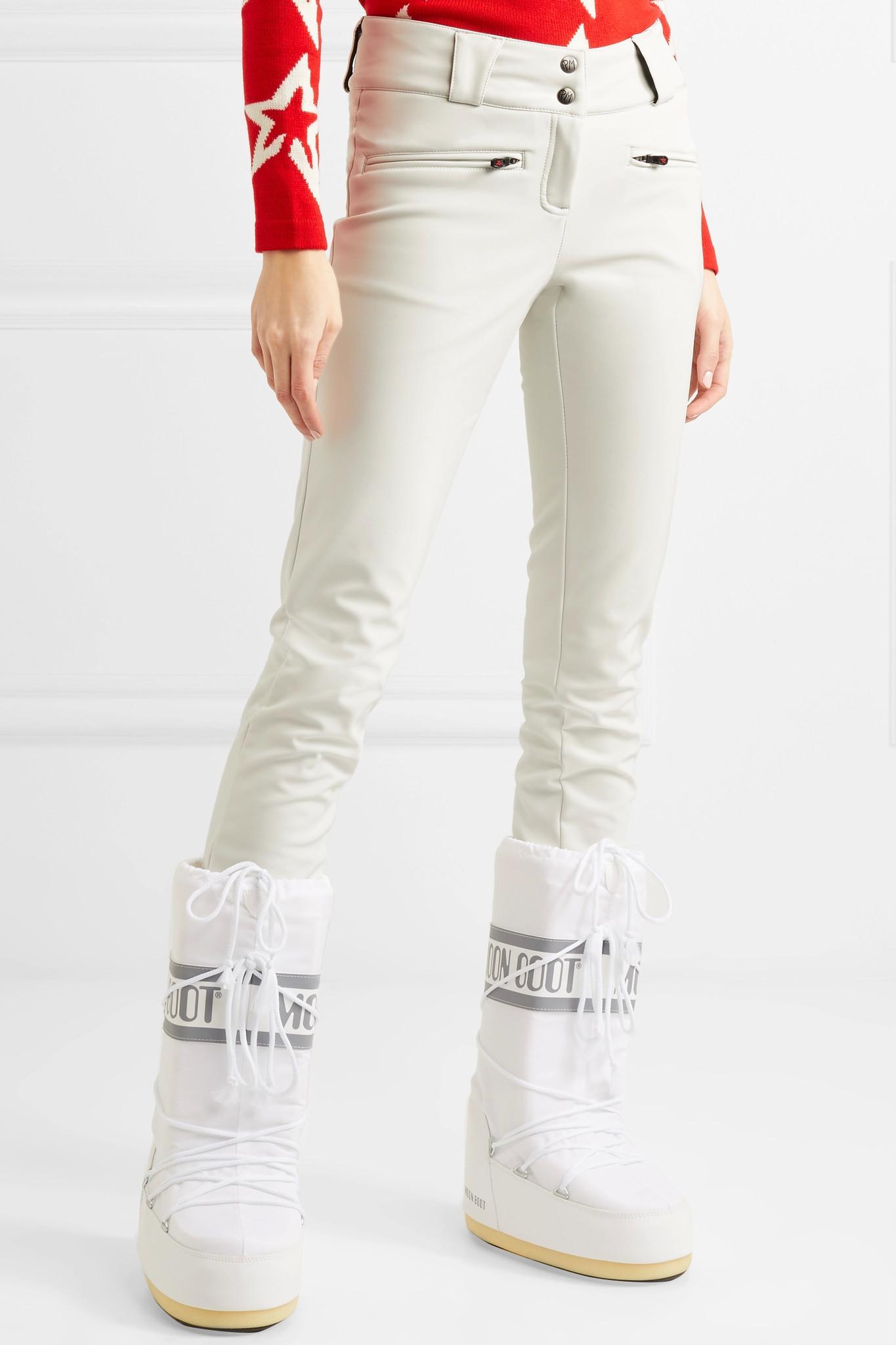 bb31d2e3289fa4 Perfect Moment Aurora Skinny Ski Pants in White - Lyst