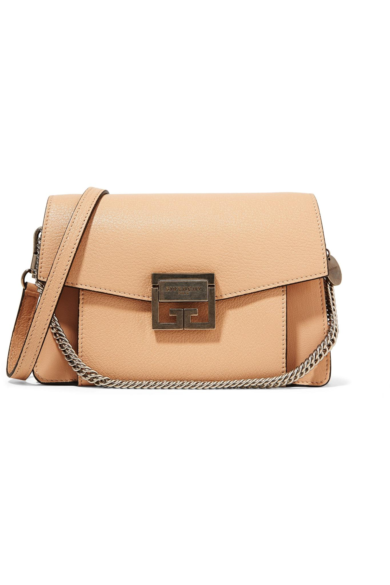 eb0d9c950d16 Givenchy - Natural Gv3 Small Leather Shoulder Bag - Lyst. View fullscreen