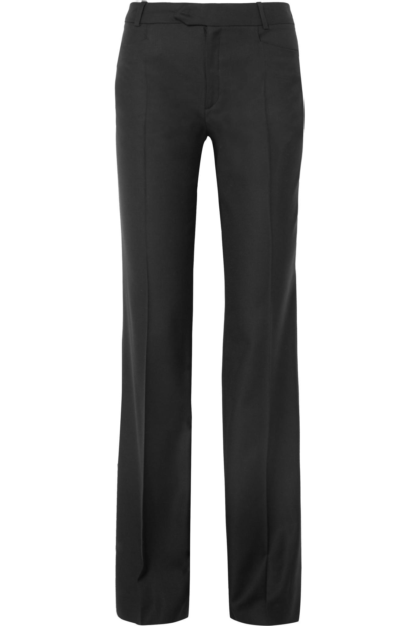 Rocker Super 100 Wool-twill Wide-leg Pants - Black Joseph wKuBMZD