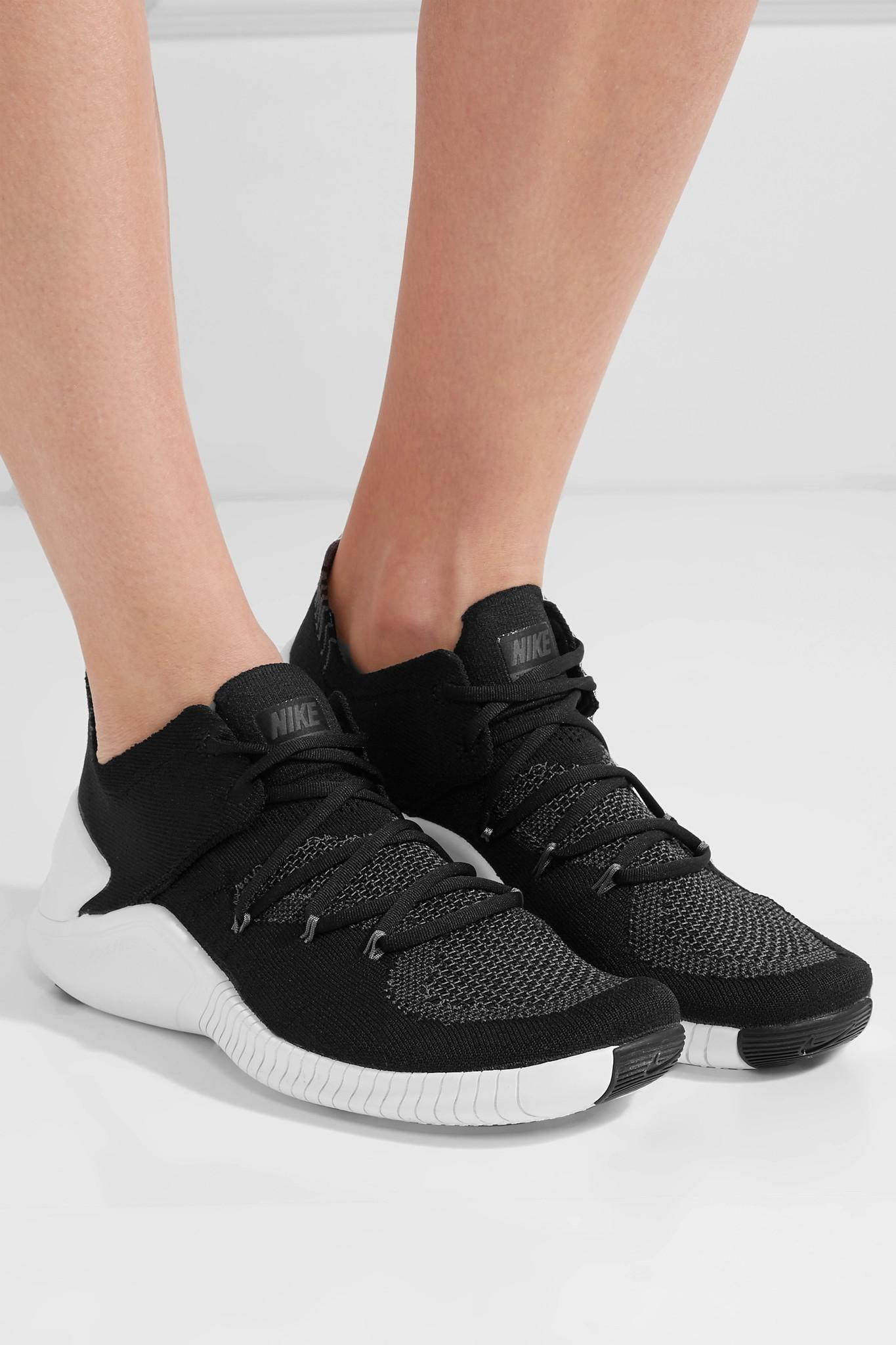 b6e0369857d Nike - Black Free Tr 3 Flyknit Sneakers - Lyst. View fullscreen