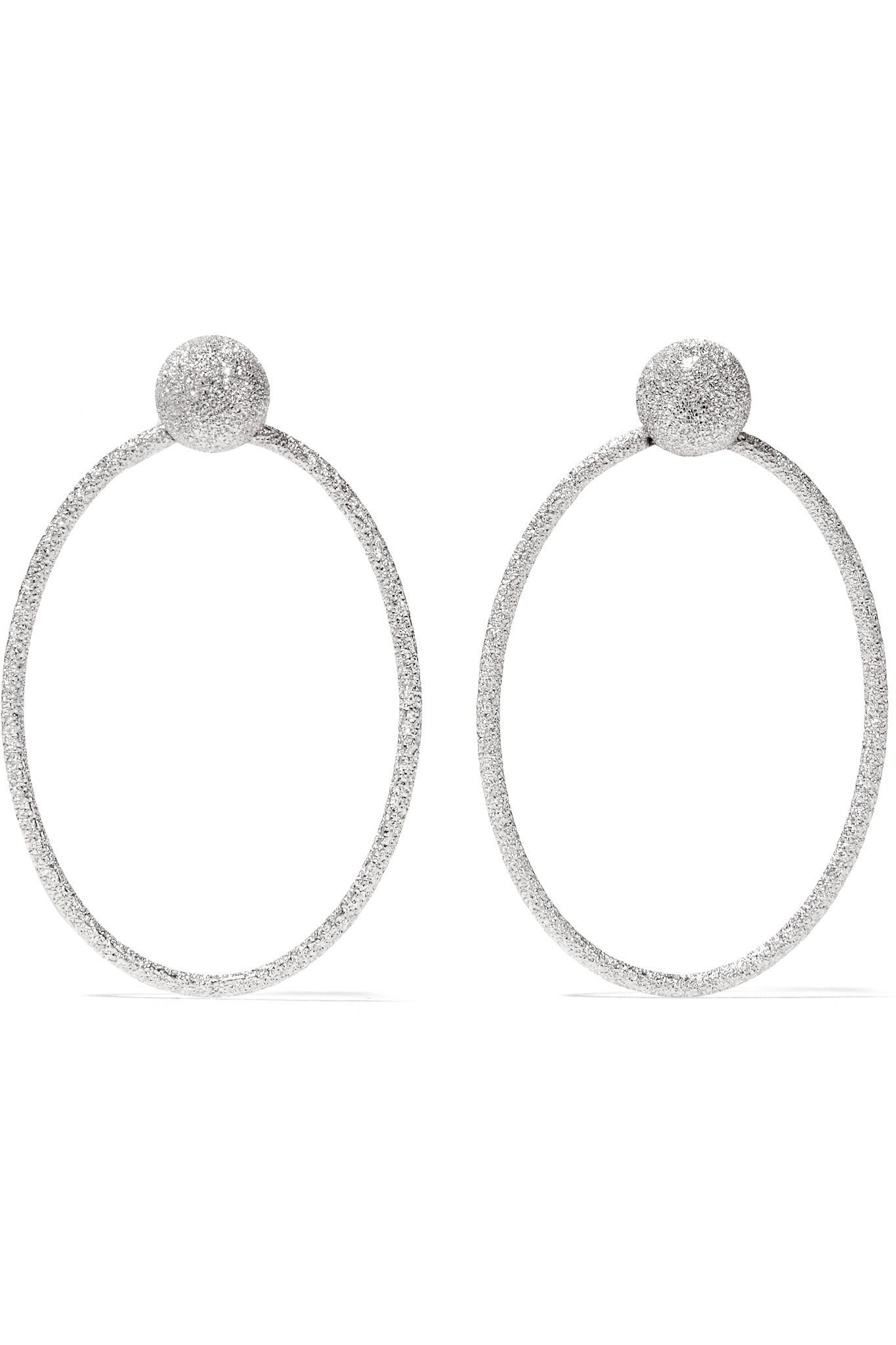 Carolina Bucci Extra Small Florentine 18-karat Gold Earrings 4uhSE