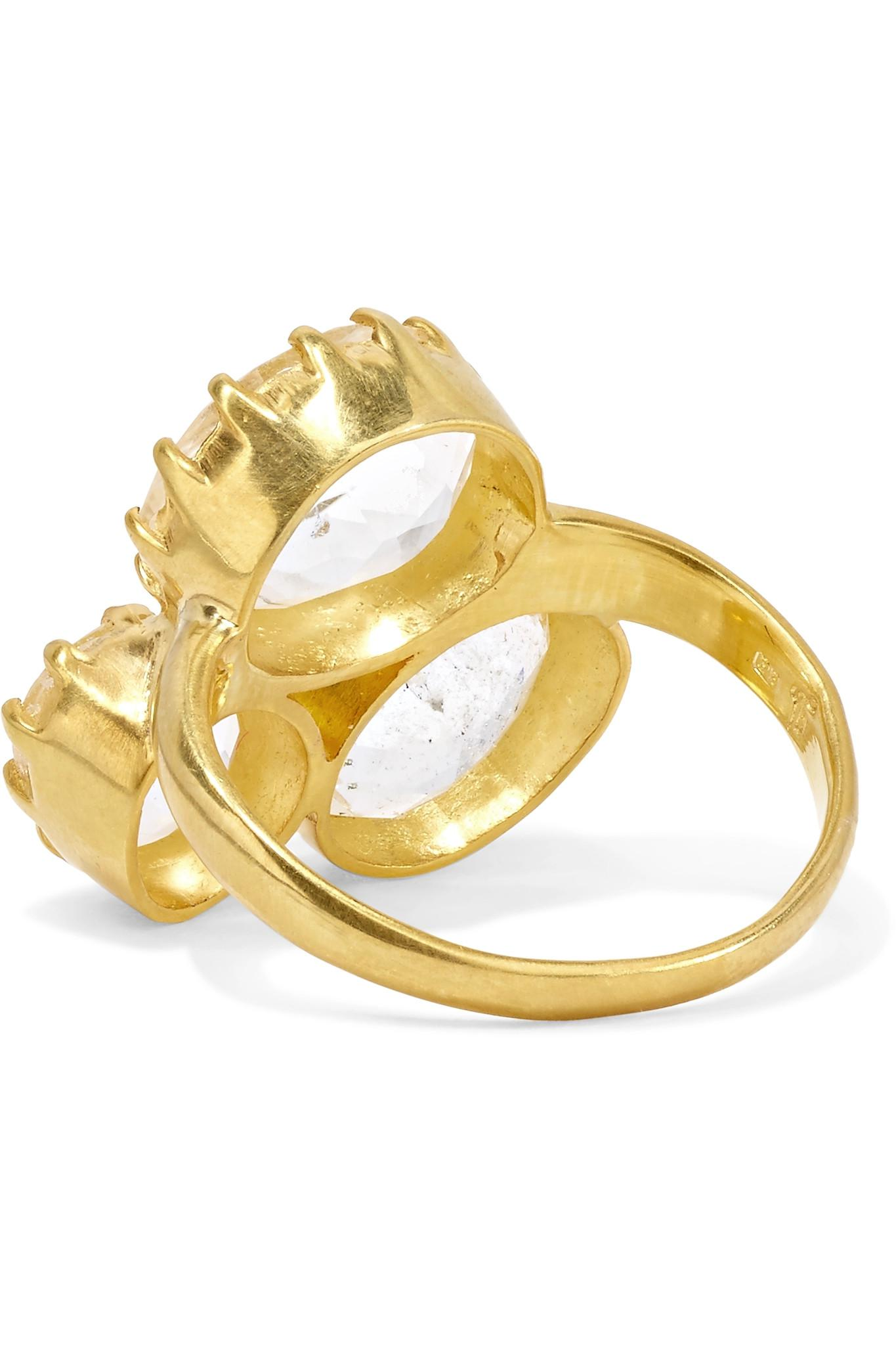 Pippa Small 18-karat Gold Diamond Ring sxcNlh