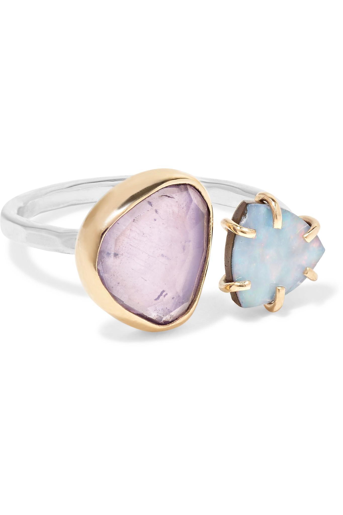 Melissa Joy Manning 14-karat Gold Opal Ring Zo8yY