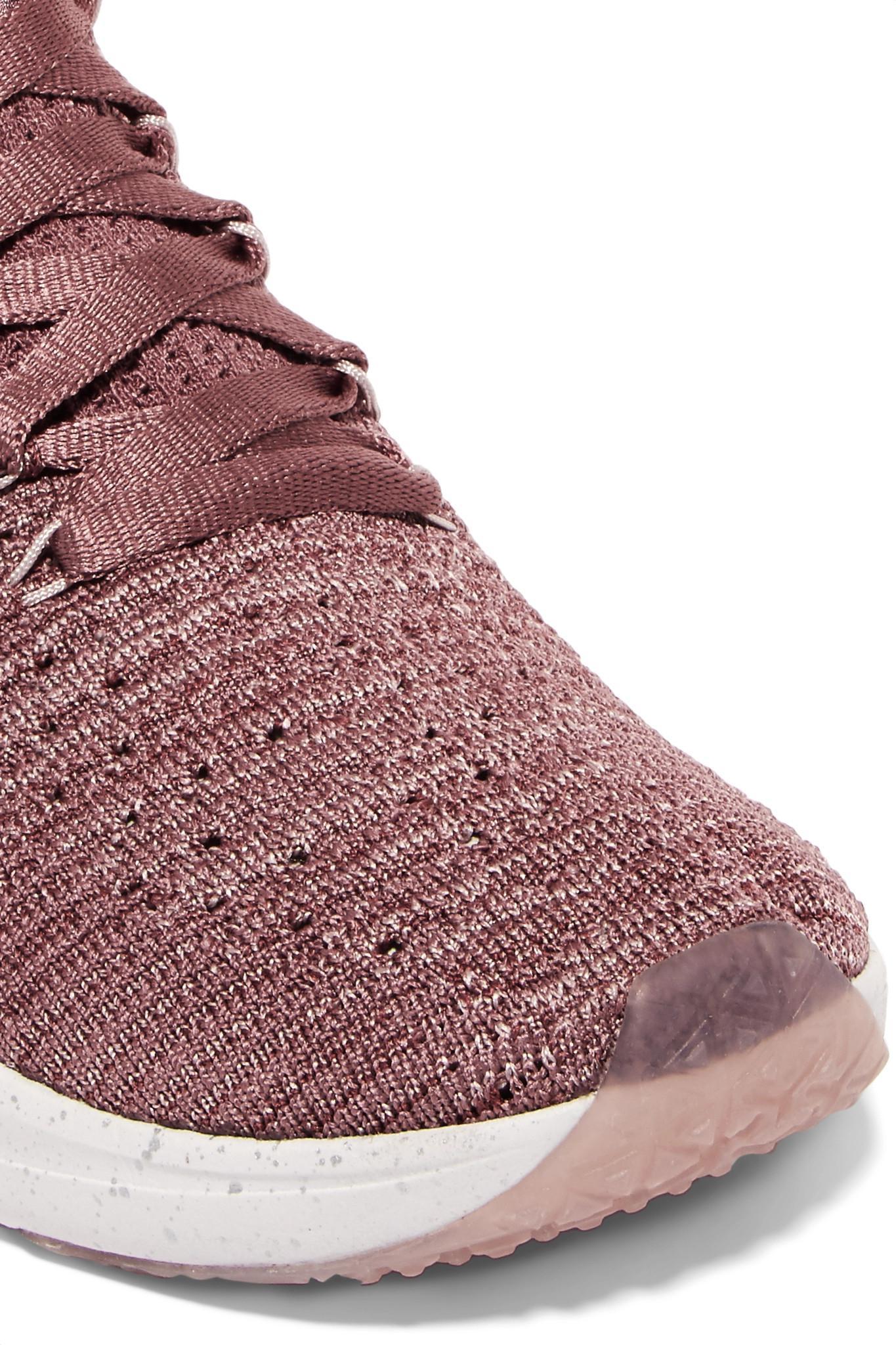 5fe31f3dd615 Lyst - Nike Air Zoom Fearless Flyknit Sneakers in Pink