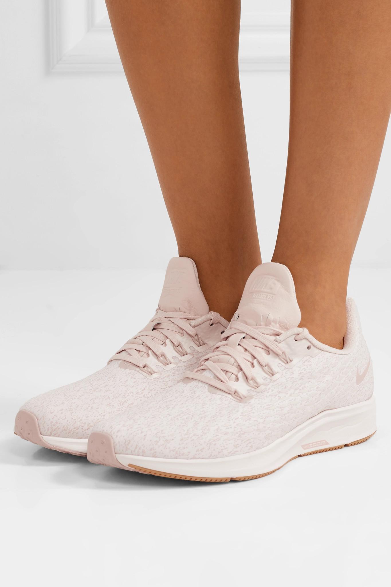 pretty nice 1526d e4168 Lyst - Nike Air Zoom Pegasus 35 Premium Mesh Sneakers
