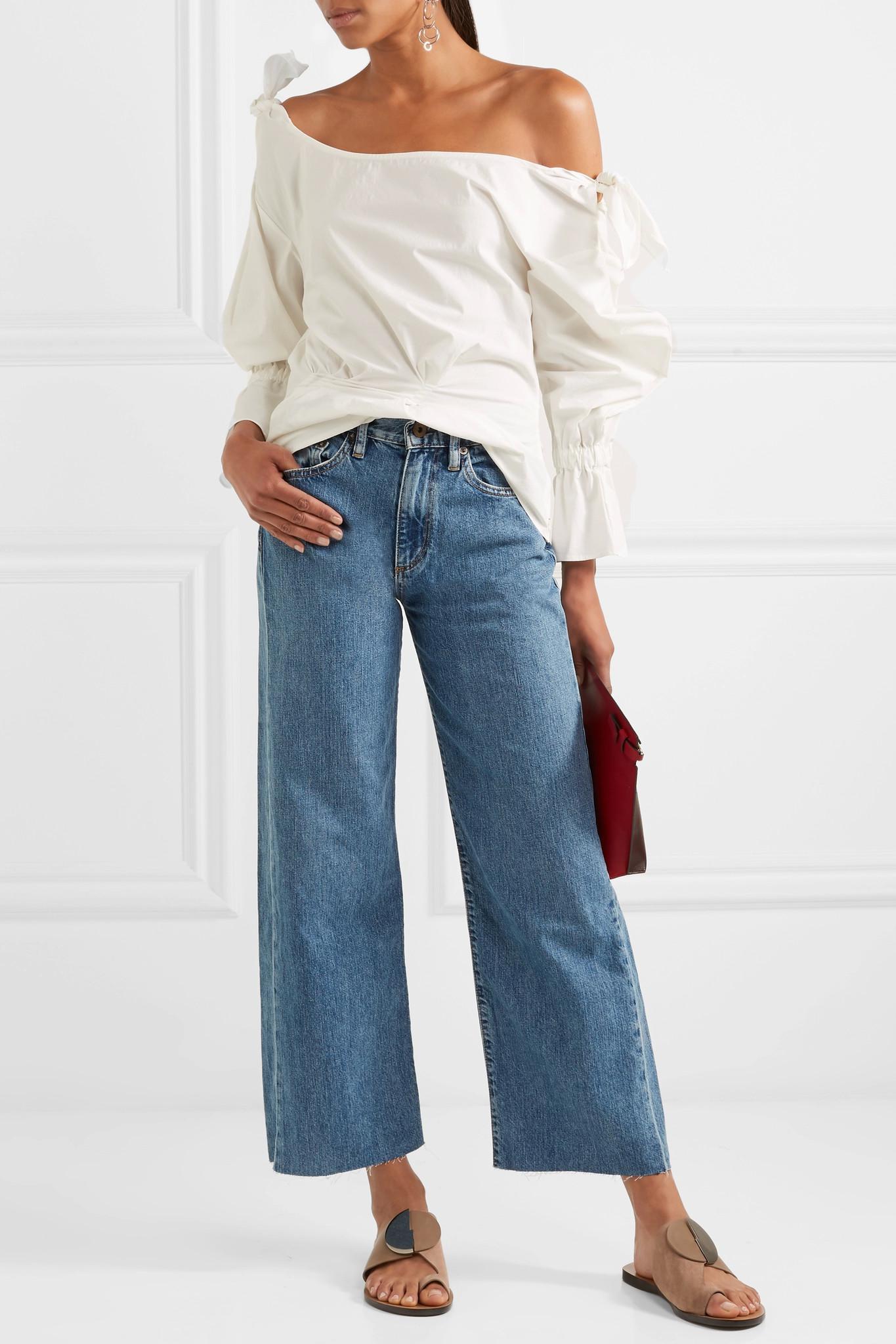 W006 Marlo Grande Hauteur Des Jeans À Jambes Larges - Mi Denim Simon Miller GCmYbm2ktP