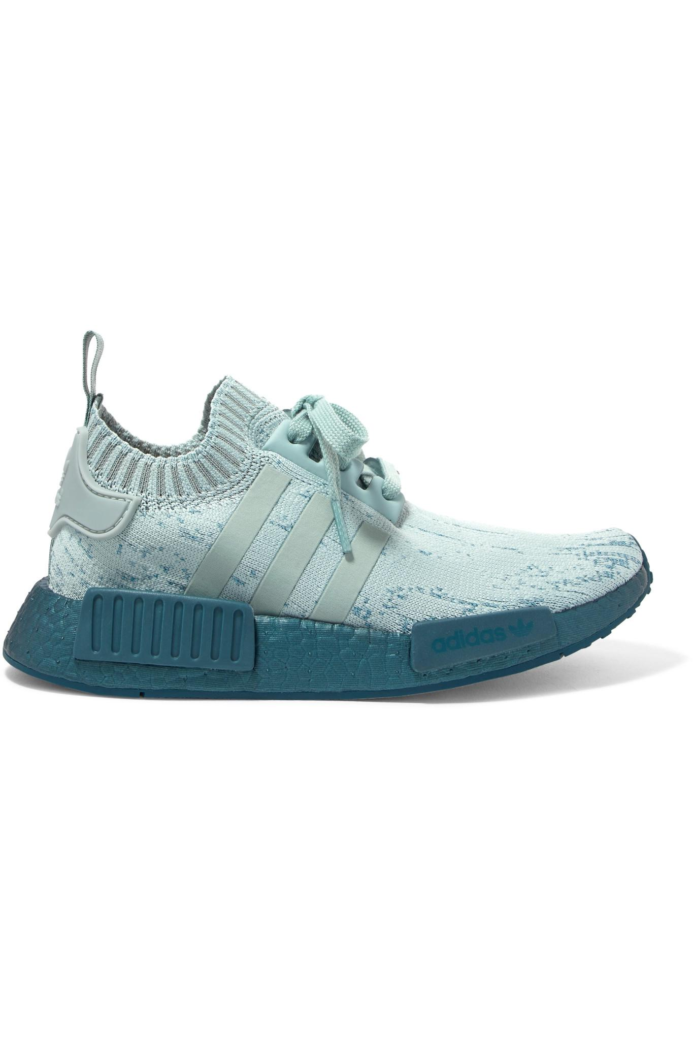 b56005d2c Adidas Originals Nmd R1 Rubber-trimmed Primeknit Sneakers - Lyst