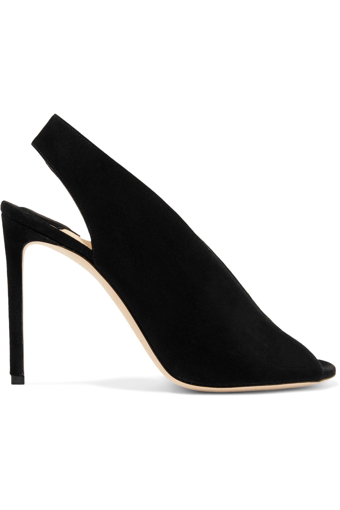 20ac7c468c2 Jimmy Choo. Women s Black Shar 100 Suede Slingback Court Shoes