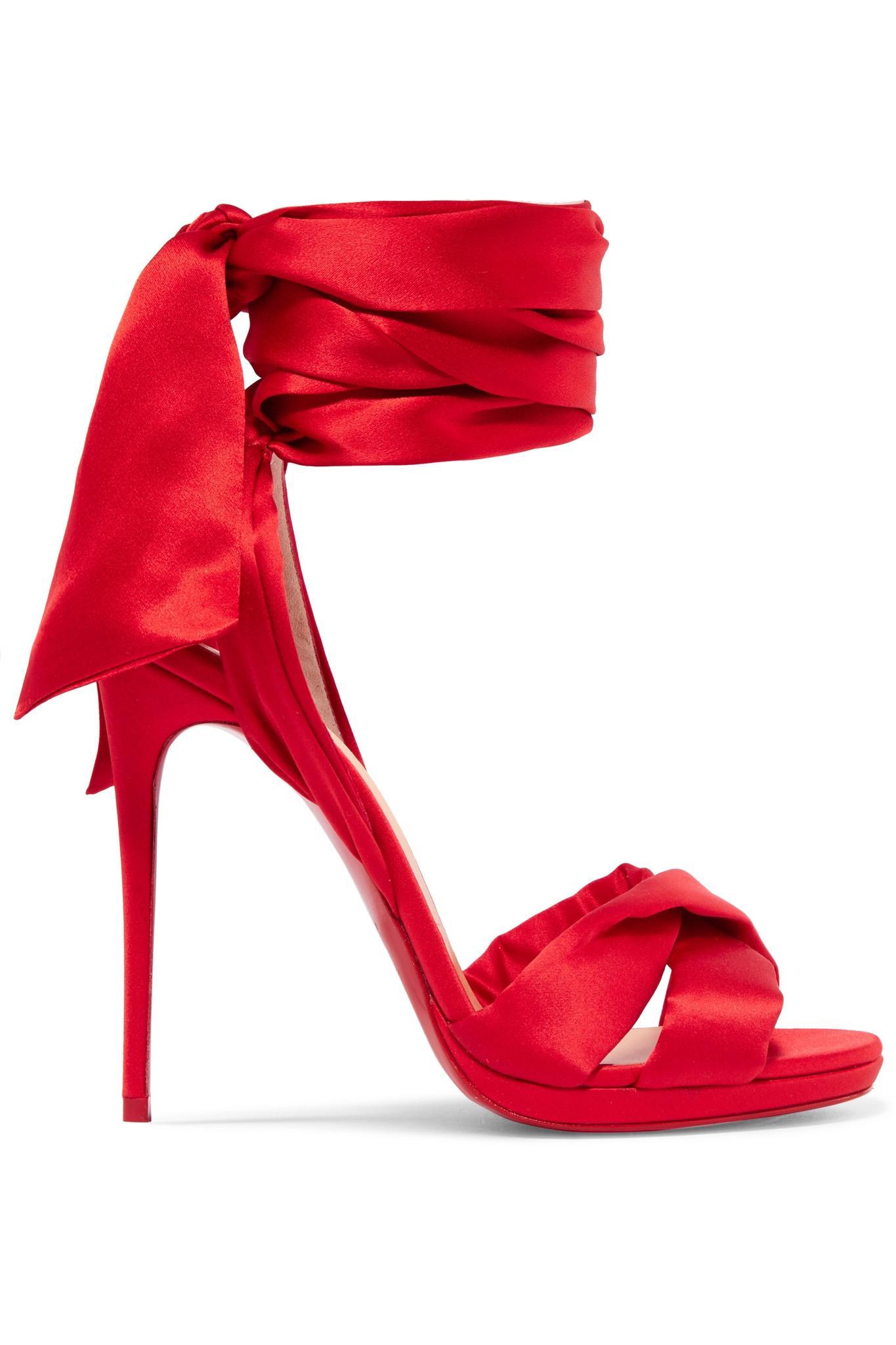 5eea7f82358 get louboutin satin sandals heels 65de4 c7ac3