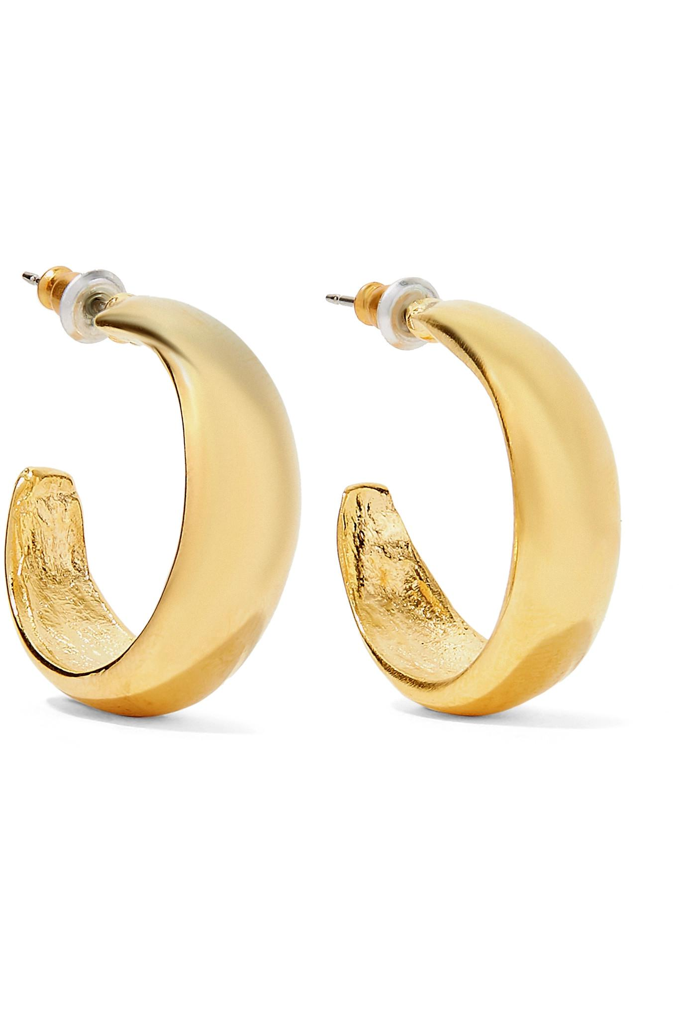 goldplated earrings plated zircon gold