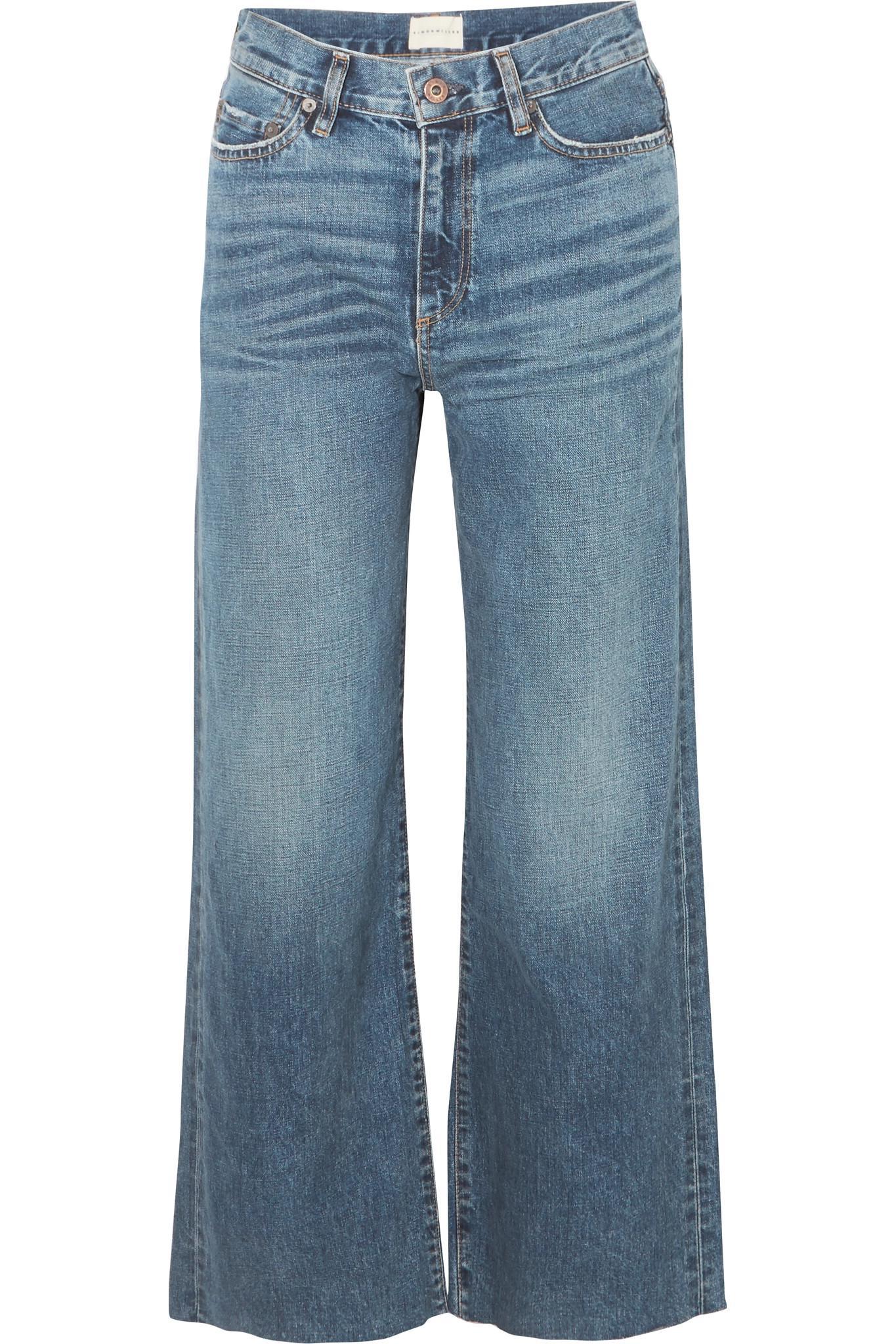 high rise wide leg jeans - Black Simon Miller rjEip