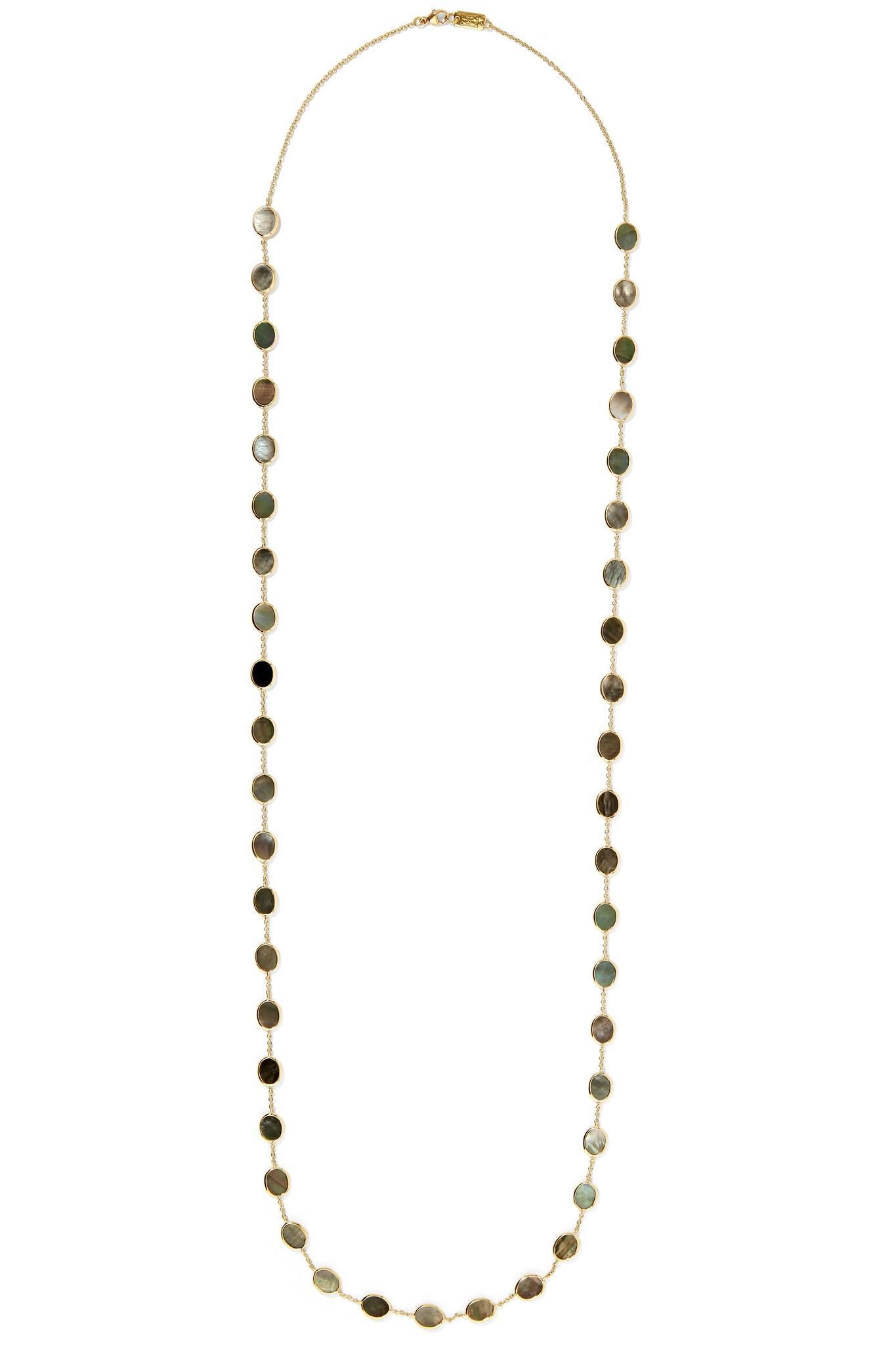Polished Rock Candy 18-karat Gold Shell Earrings - one size Ippolita VVBnzR