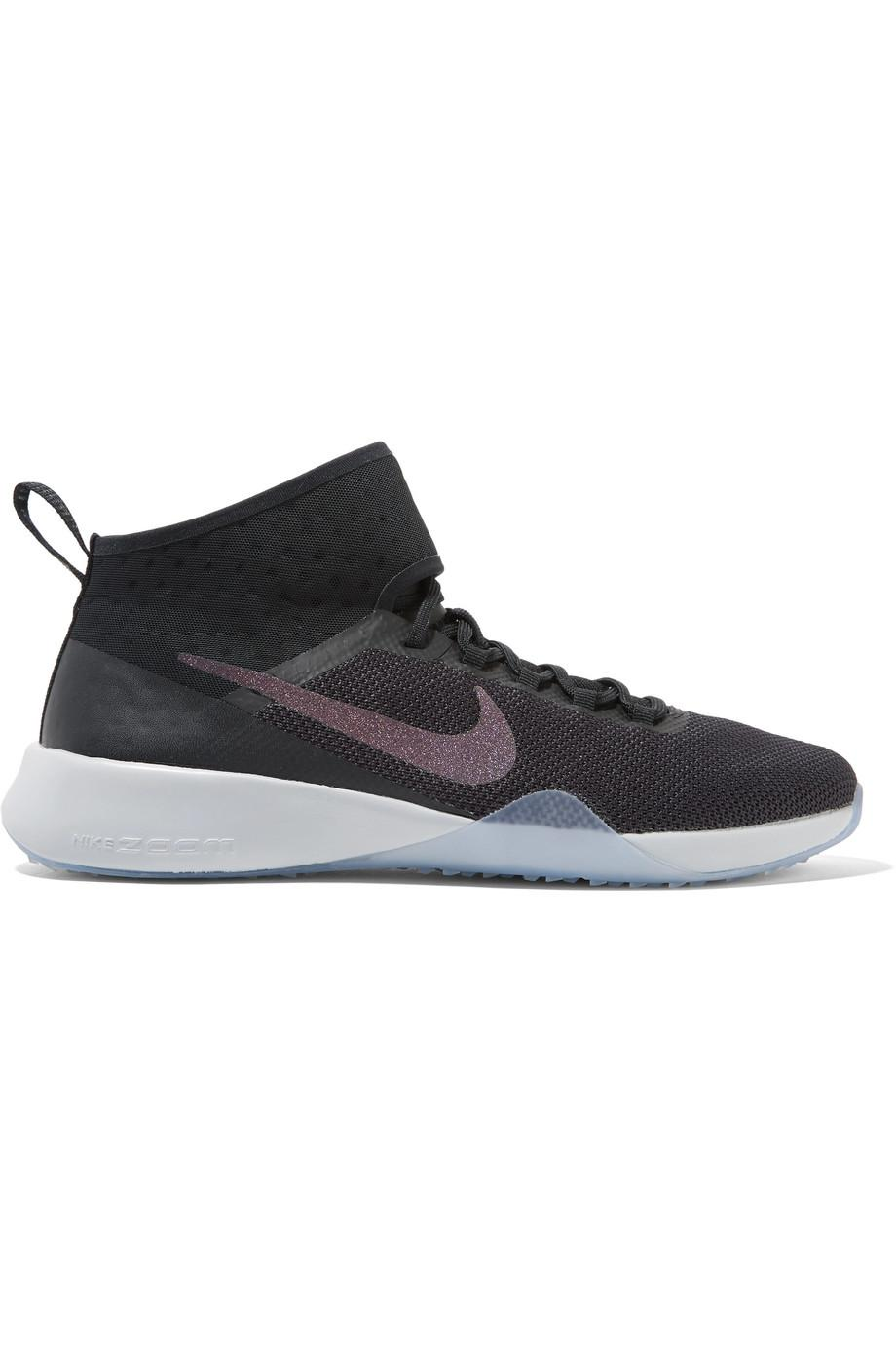 Outlet Fast Delivery Air Zoom Strong 2 Metallic Mesh And Rubber Sneakers - Black Nike Perfect Online K1zoFL0
