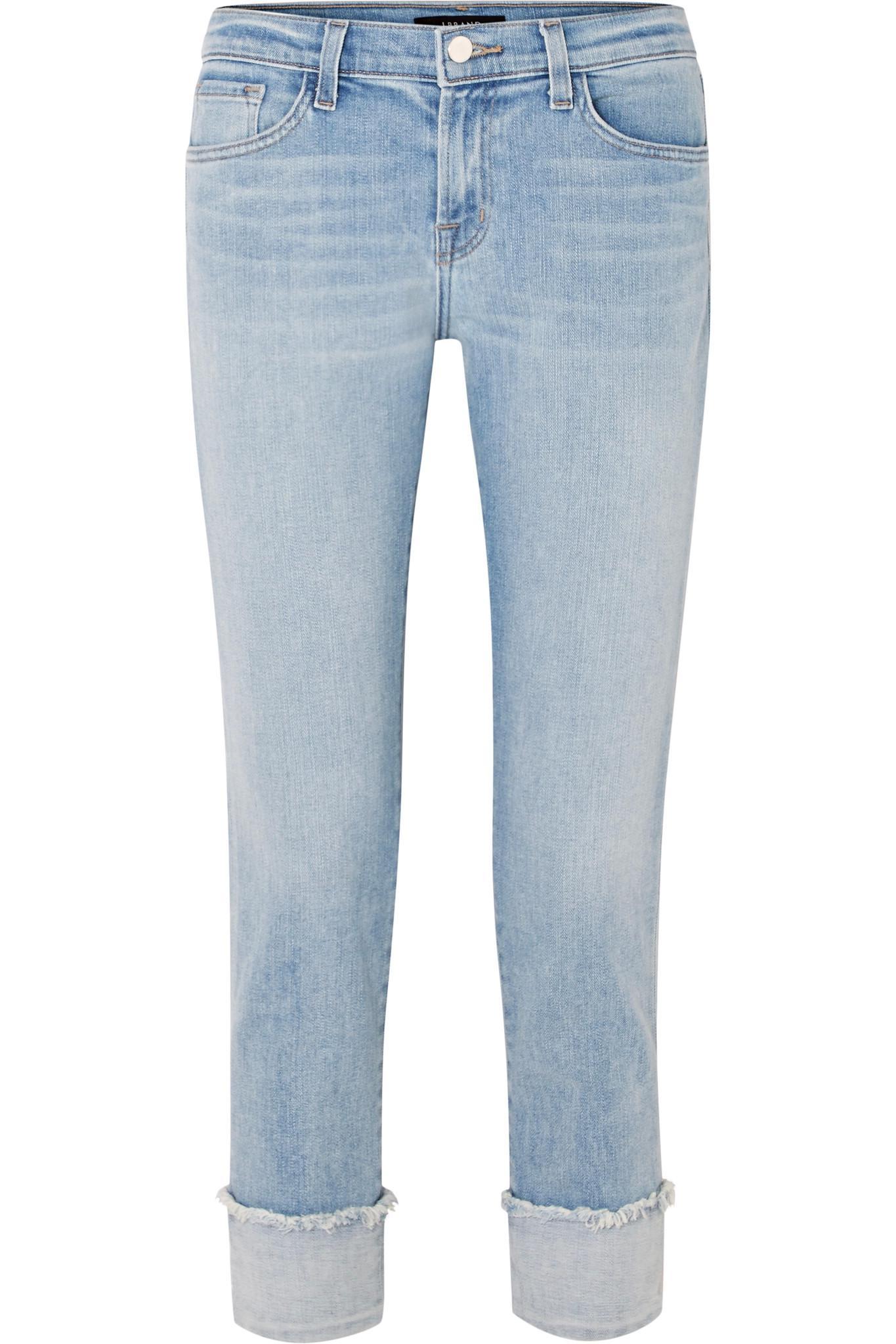 Sadey Mid-rise Slim-leg Jeans - Light denim J Brand Outlet Sneakernews S39M2B