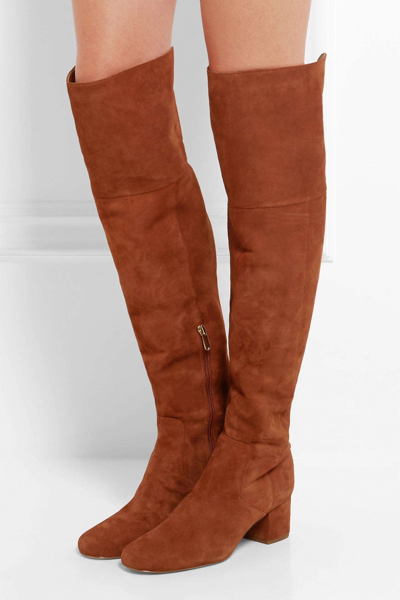 f7c73b49699df6 Lyst - Sam Edelman Elina Suede Over-the-knee Boots in Brown