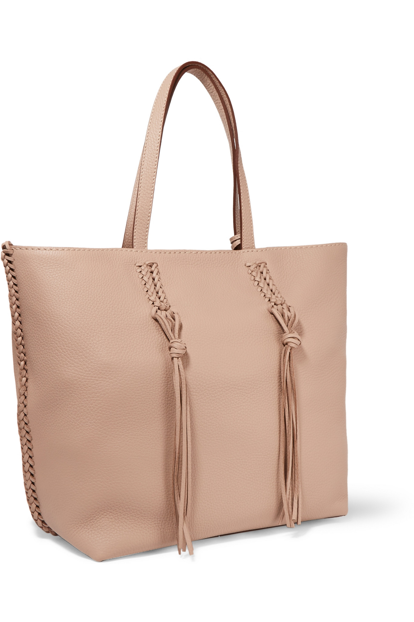1cb542562d Tod's Gypsy Medium Textured-leather Tote in Natural - Lyst