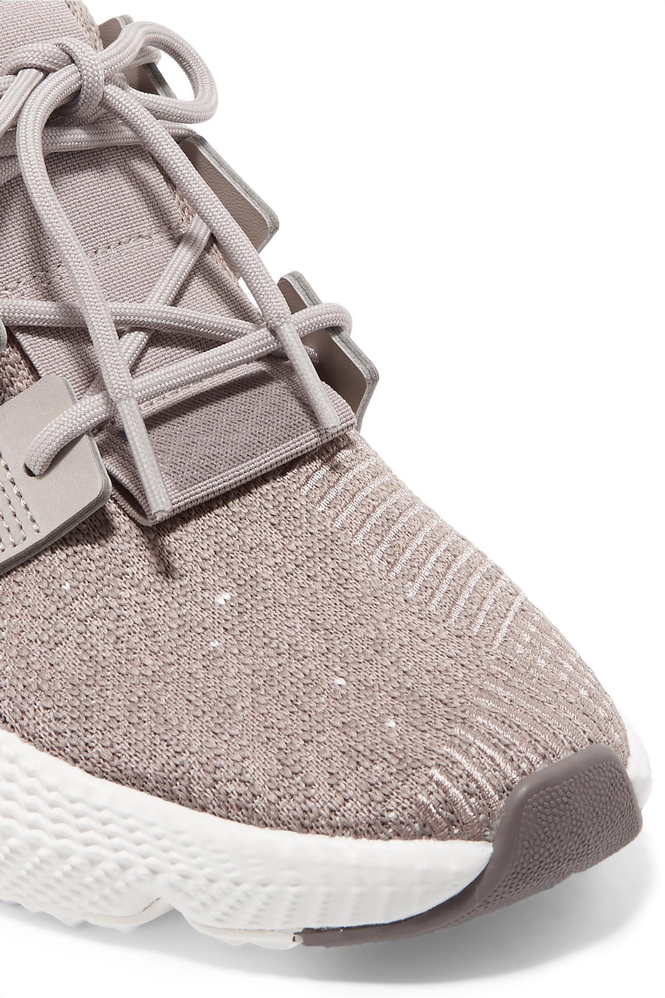 41955a11e414 Adidas Originals - Multicolor Prophere Stretch-knit Sneakers - Lyst. View  fullscreen