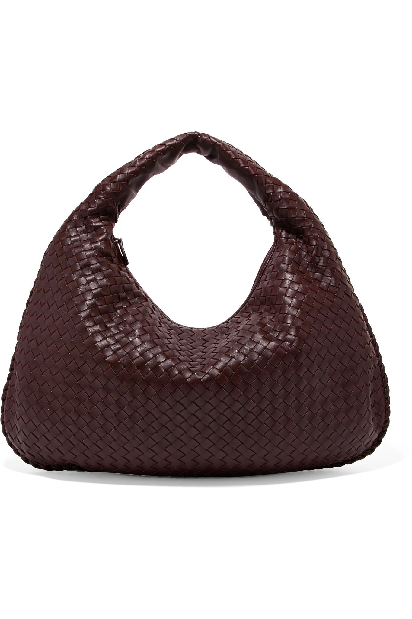 533bc2f31bc2 Bottega Veneta Hobo Large Intrecciato Leather Shoulder Bag in Brown ...