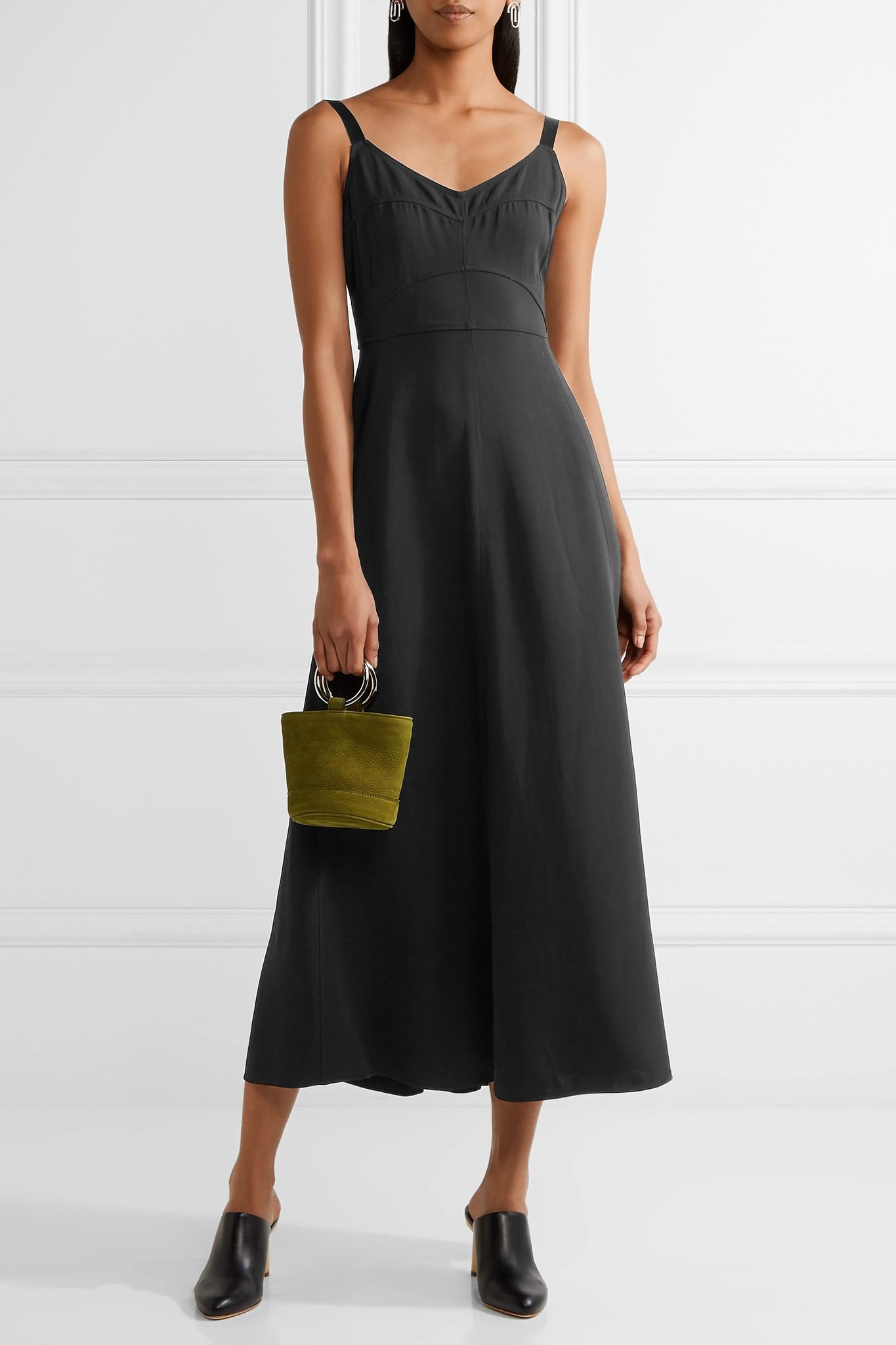 Cynthia Cutout Stretch-crepe Midi Dress - Black Elizabeth & James
