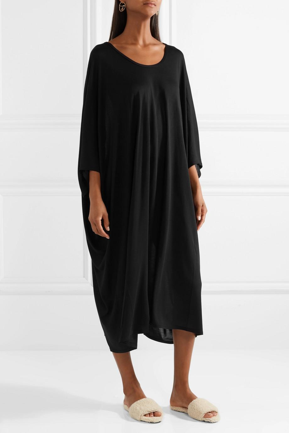 Serlyn Oversized Stretch-jersey Dress - Black The Row jiSV125pY9