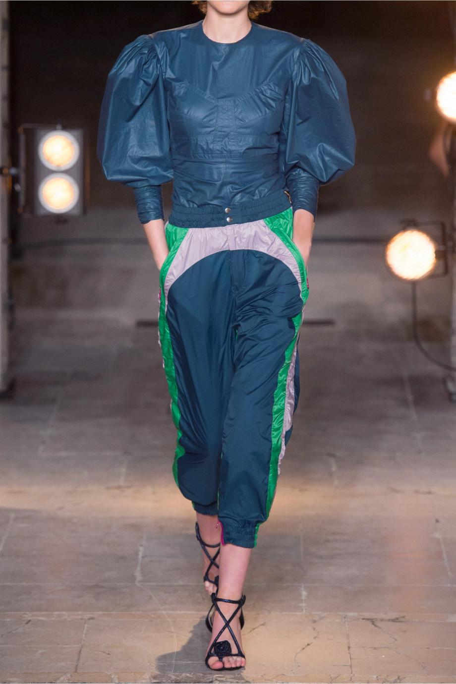 2e6b4d2b0ad Lyst - Isabel Marant Raruso Color-block Shell Track Pants in Blue