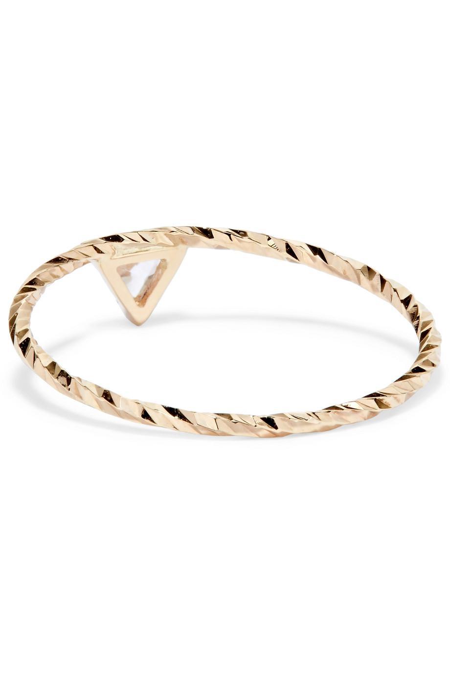 Maria Black Viper 14-karat Gold Sapphire Ring EcEJm