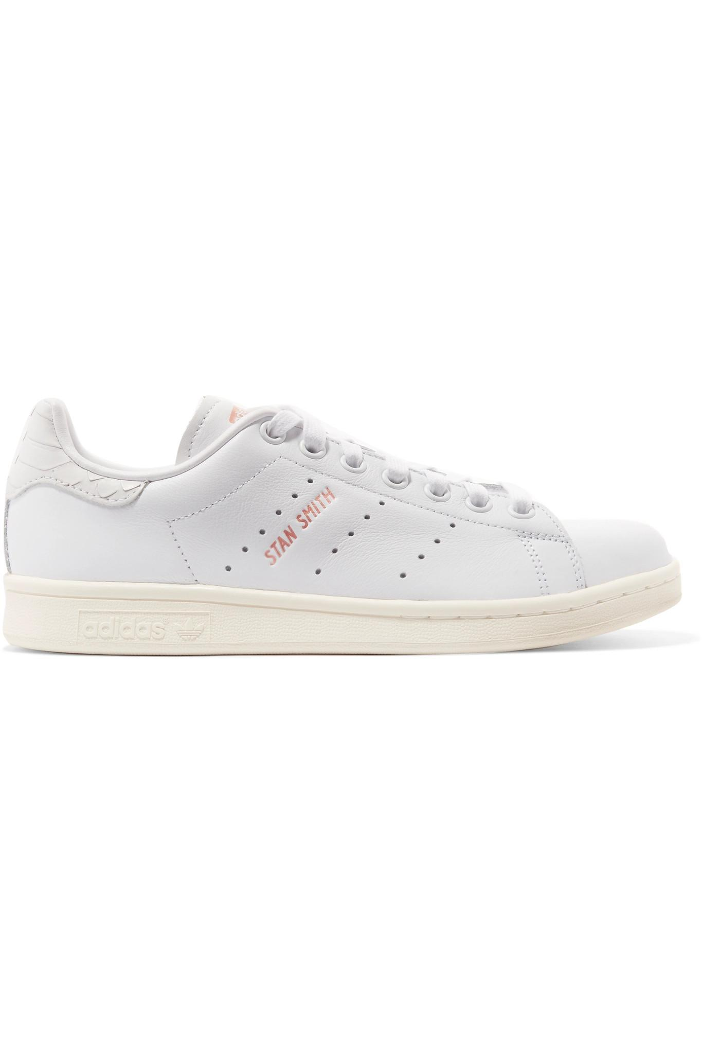 Continental 80 Grosgrain-trimmed Leather Sneakers - White adidas Originals kbIQttlPN7