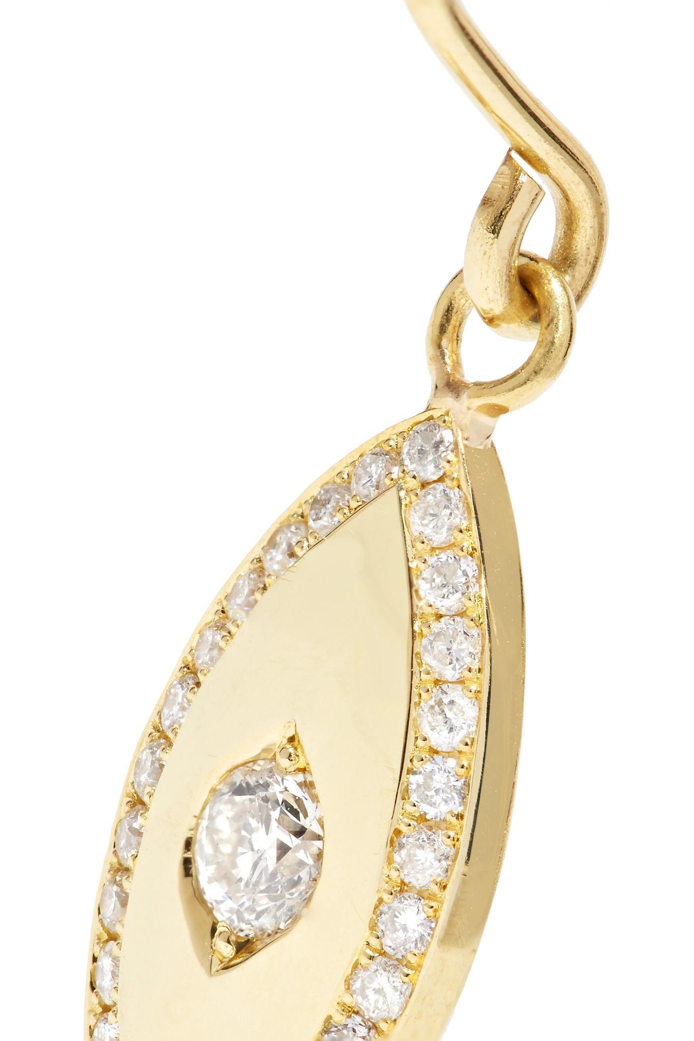 Jennifer Meyer 18-karat Gold Diamond Earring v8YVe76nS