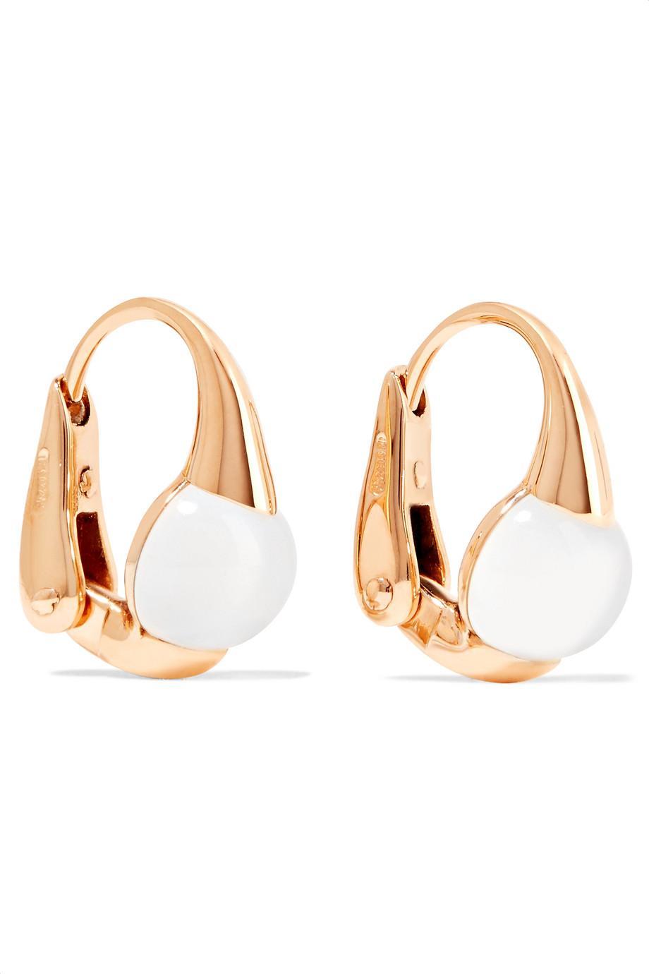 POMELLATO Mama Non Mama 18-karat Gold Topaz Earrings Pu41Q