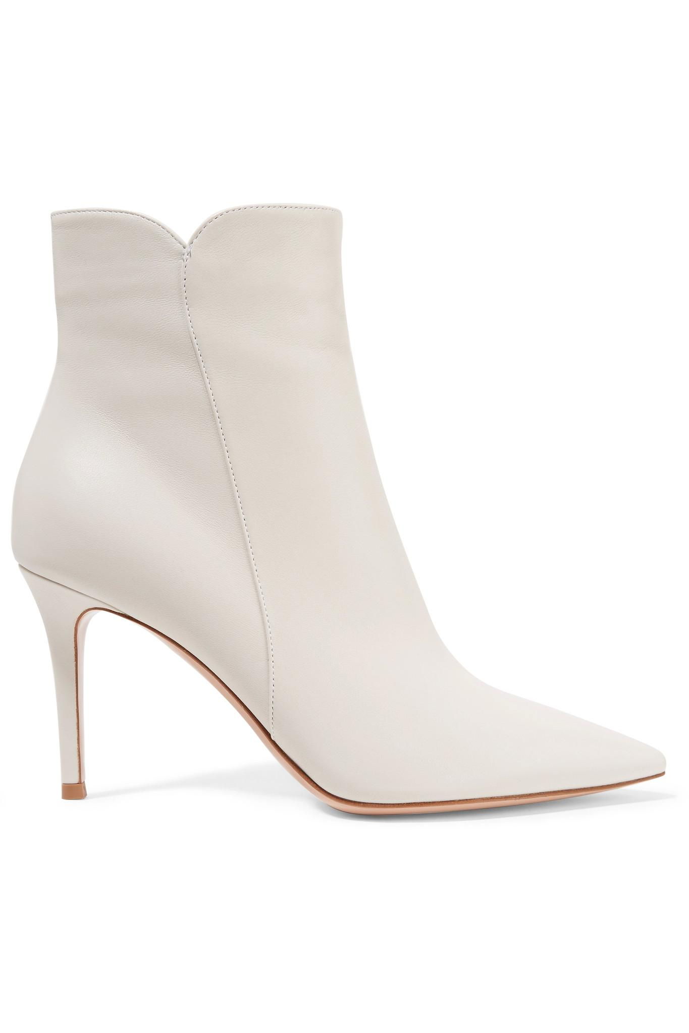 Gianvito Rossi Nappa Leather Levy 85 Ankle Boots in . yXEpr