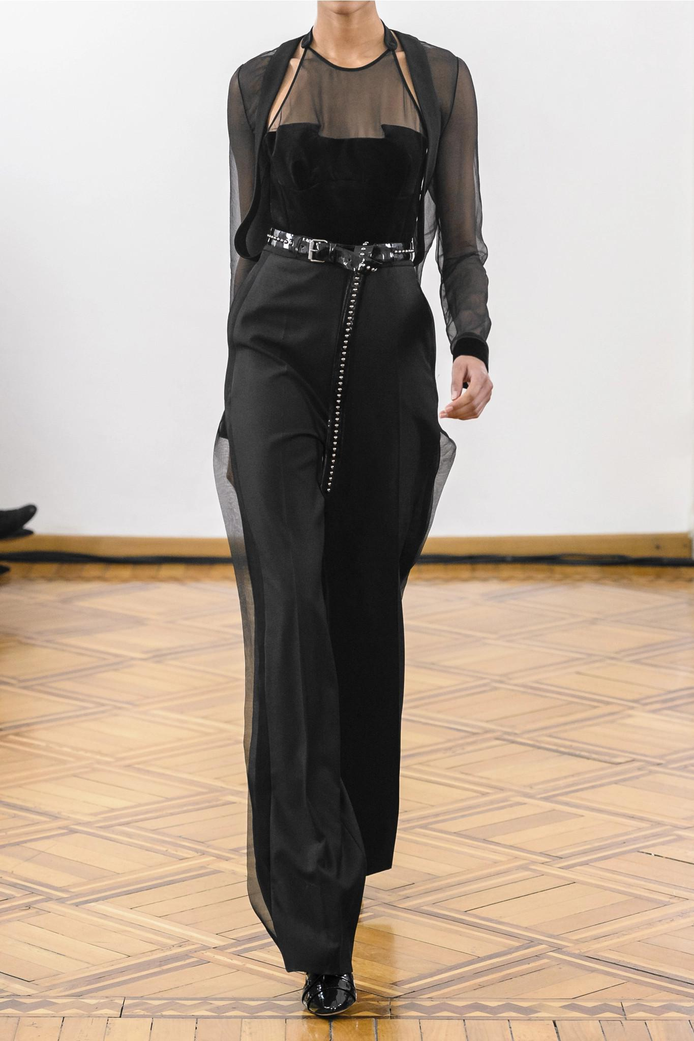 40e0082c7a90 Antonio Berardi - Black Wool-crepe
