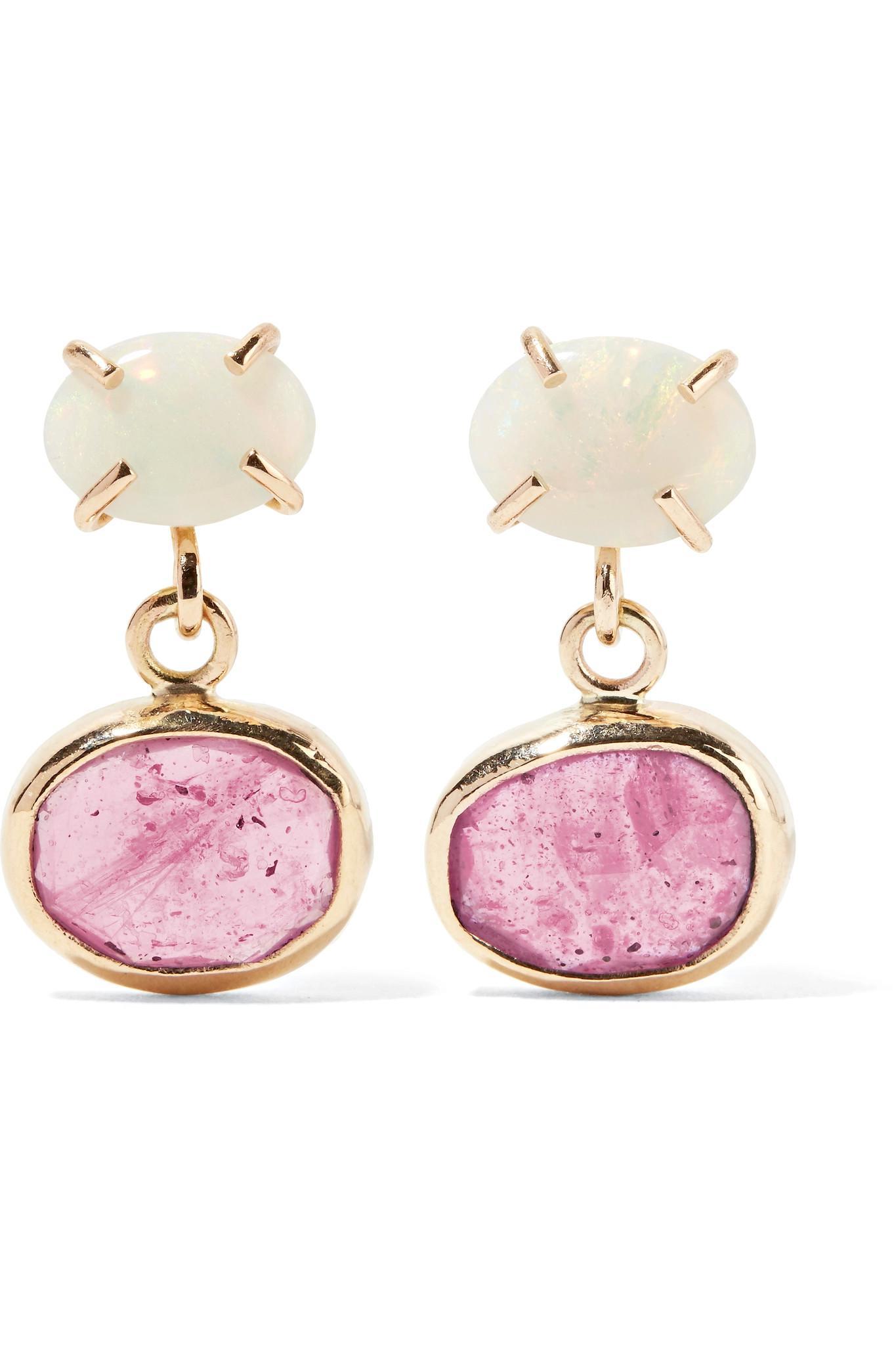 Melissa Joy Manning Melissa Joy Manning Woman 14-karat Gold Sapphire Earrings Gold Size e0H1Gh