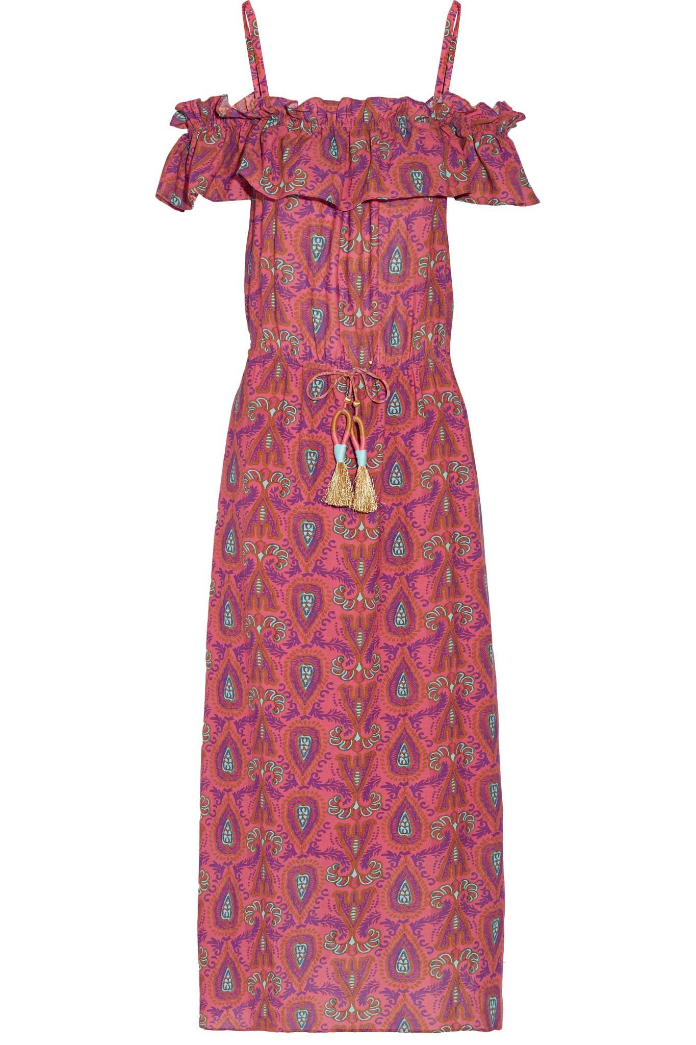 Discount Best Maya floral-print corset cotton midi dress Sea New York Wiki For Sale OVb1tYj6