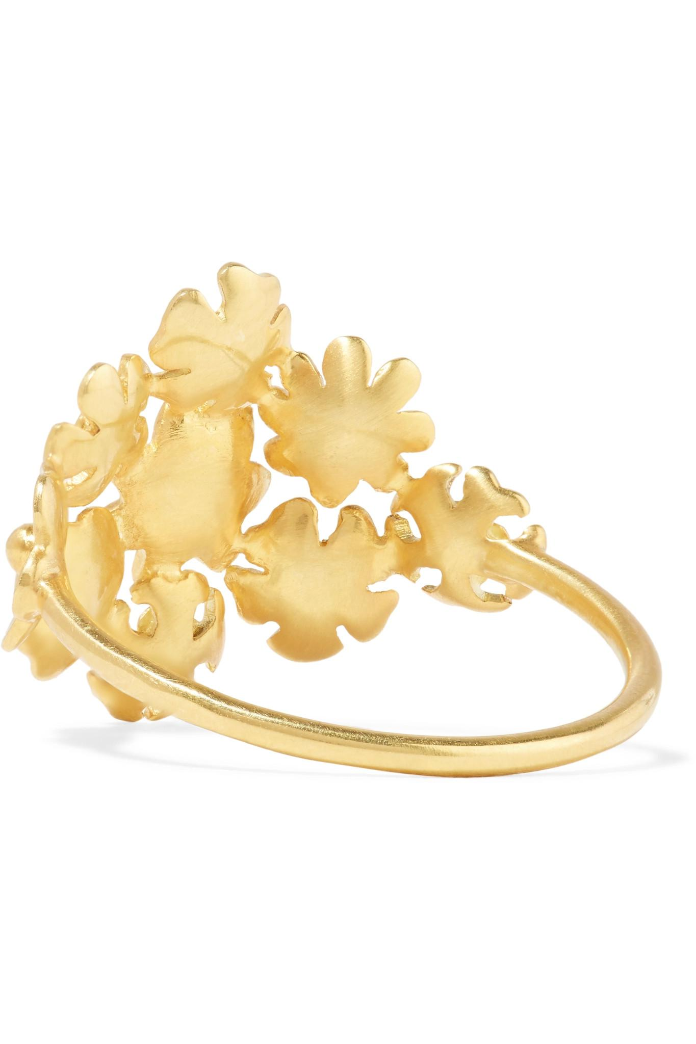 Pippa Small 18-karat Gold Ring qr54ol32b
